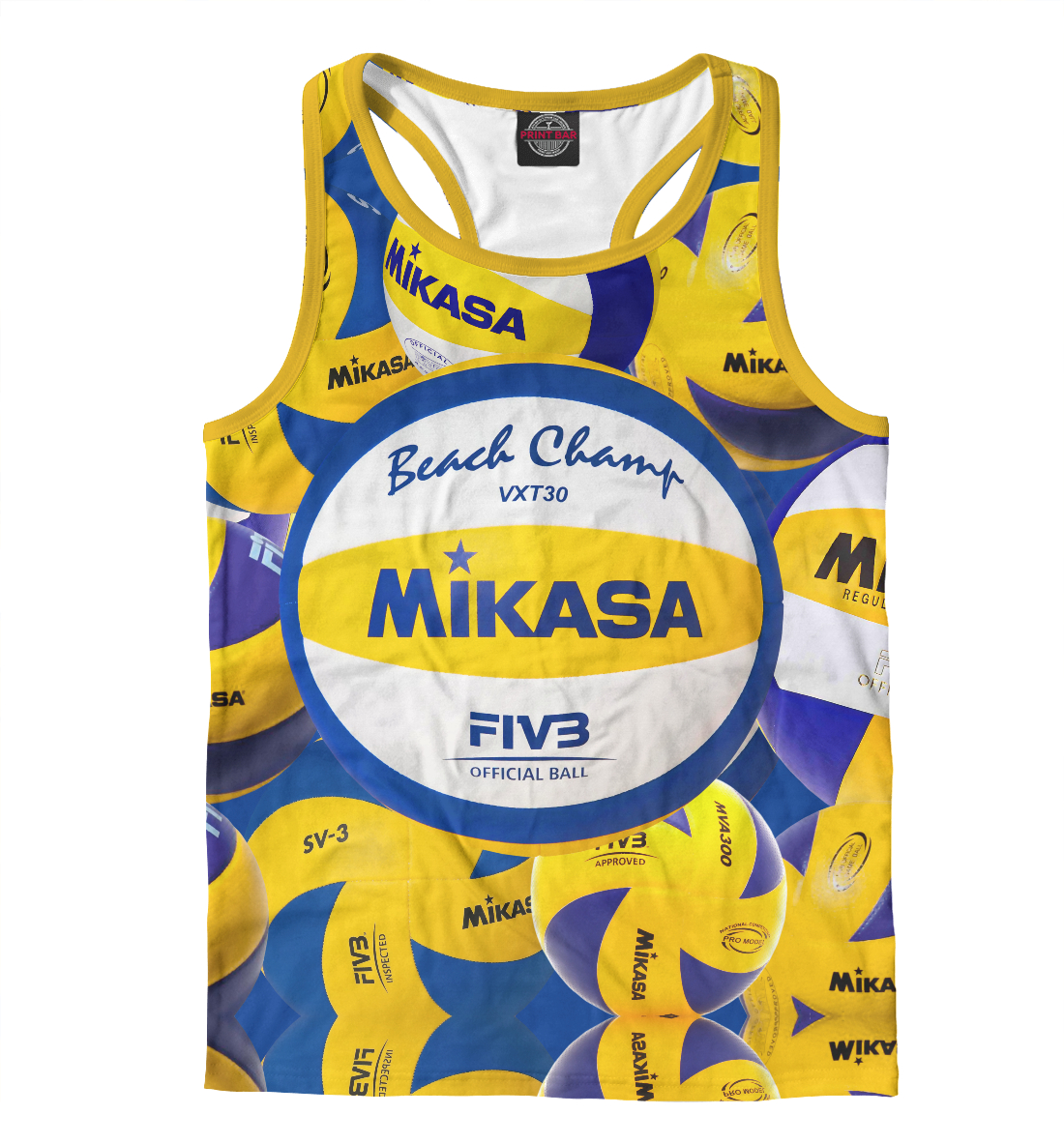 Купить Beach volleyball (Mikasa), Printbar, Майки борцовки, VLB-430994-mayb-2