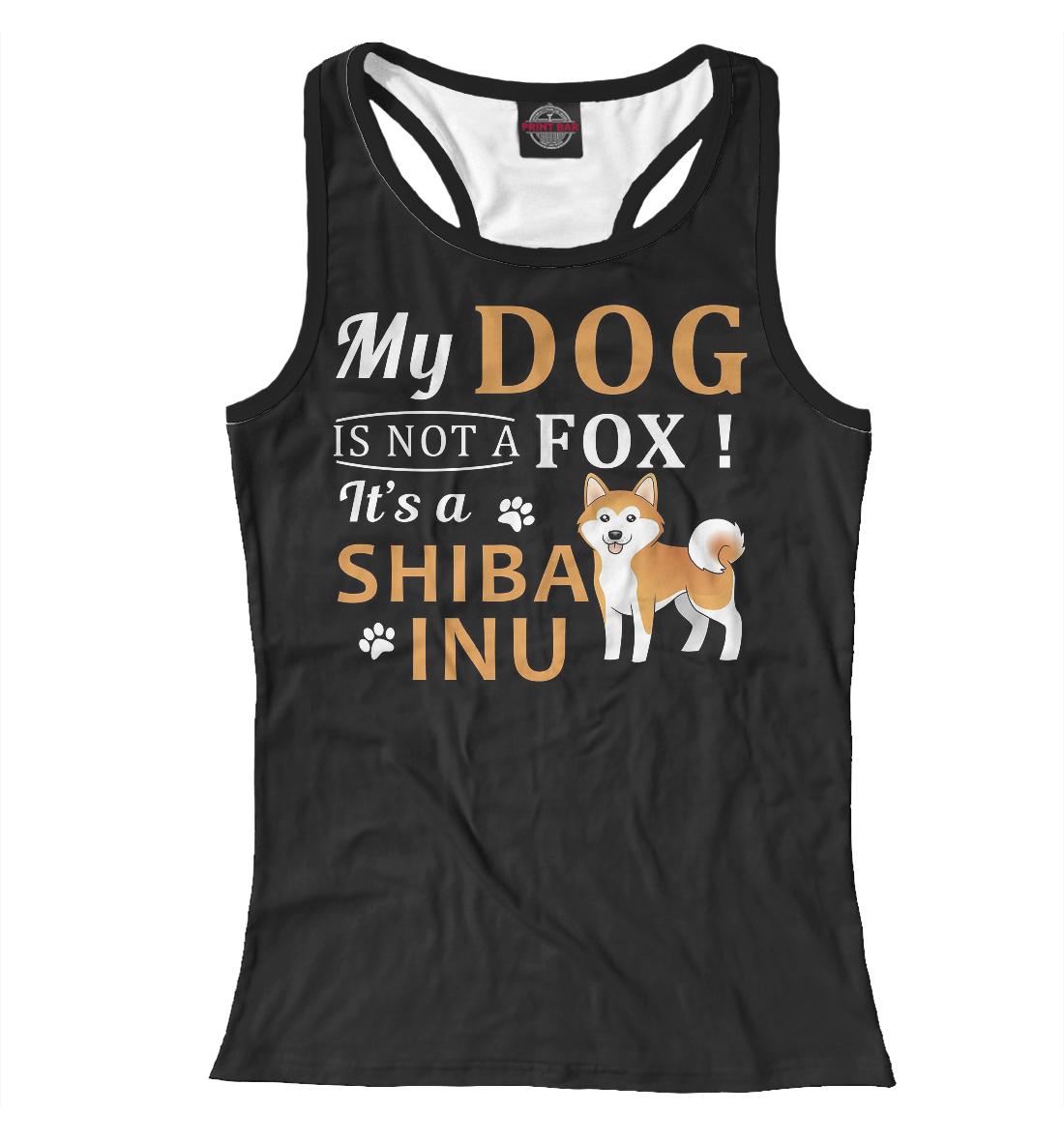 Купить Shiba inu, Printbar, Майки борцовки, DOG-424210-mayb-1