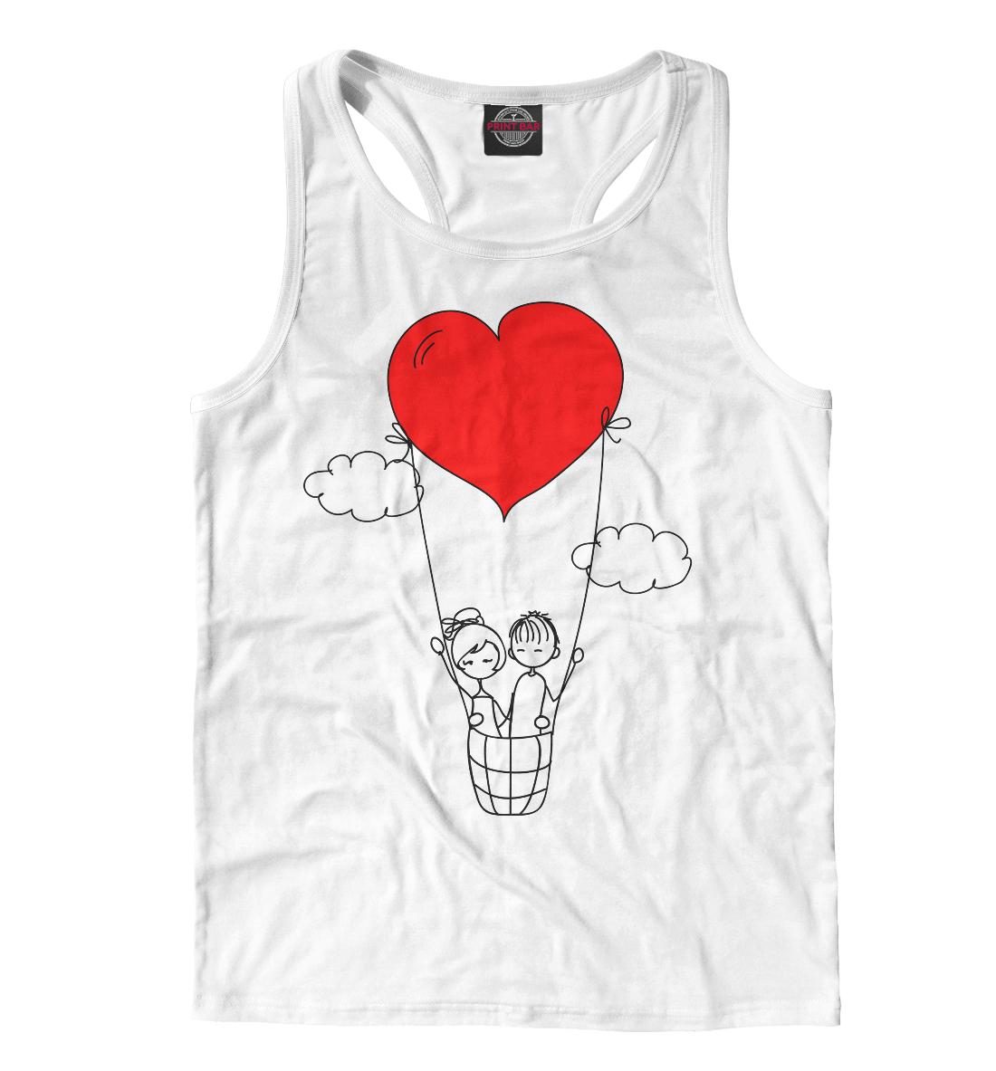 Купить Человечки и сердечки, Printbar, Майки борцовки, 14F-778657-mayb-2