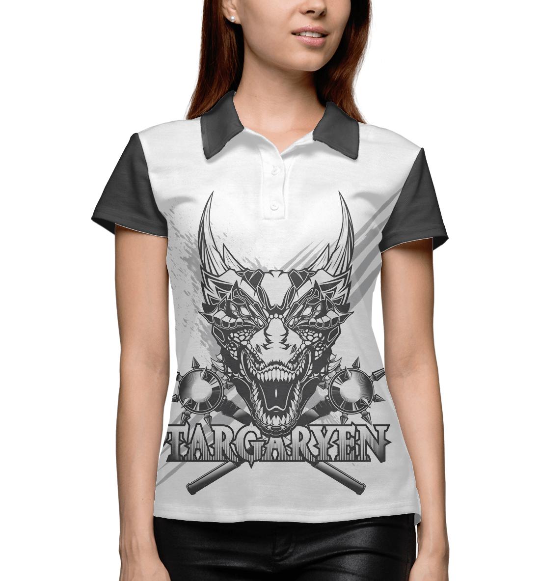 Купить Game of Thrones targaryen, Printbar, Поло, IGR-916372-pol-1