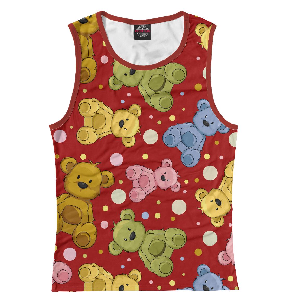 Купить Cute teddy bears, Printbar, Майки, APD-812030-may-1