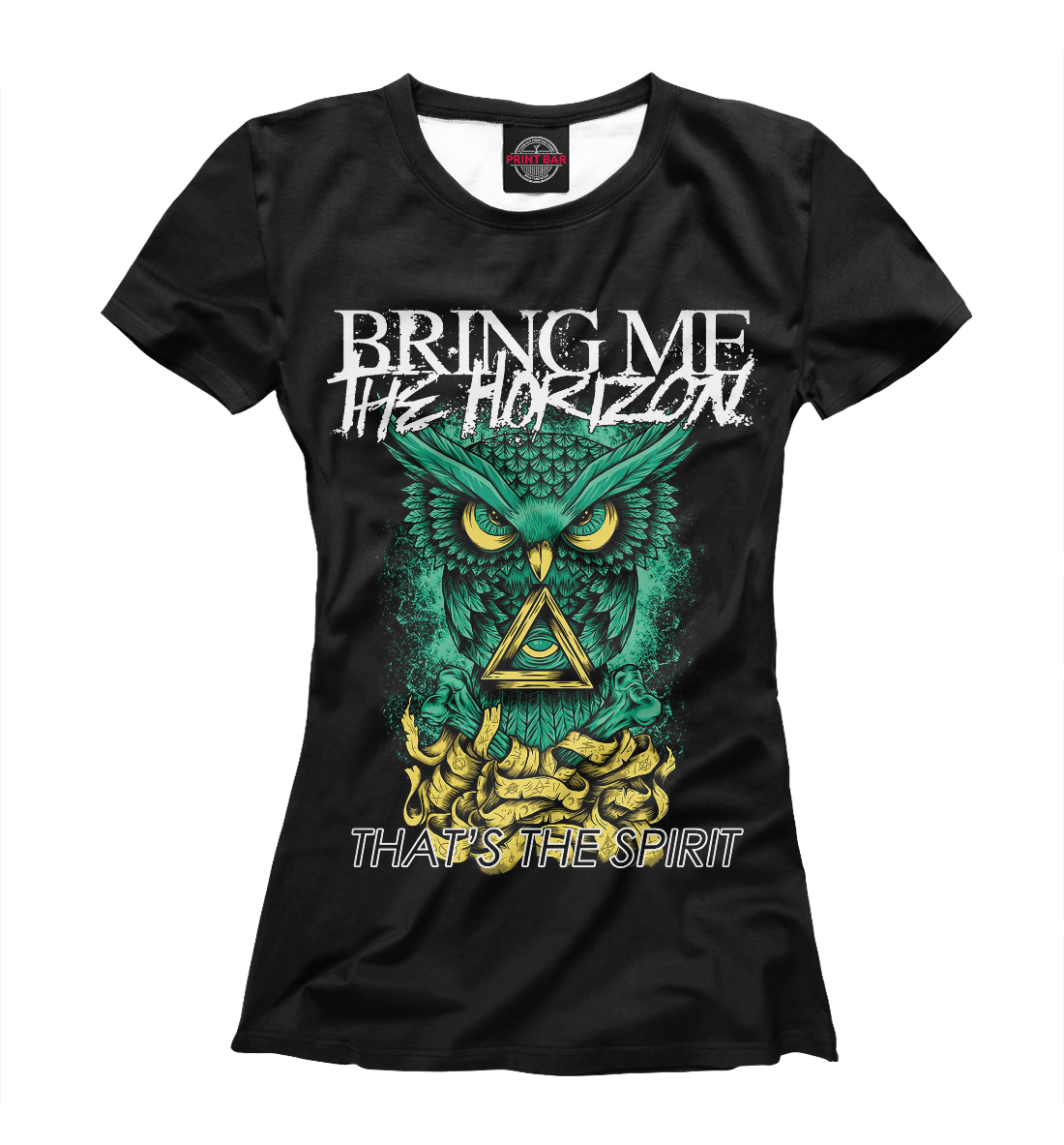 Купить Bring Me the Horizon, Printbar, Футболки, BRI-965506-fut-1