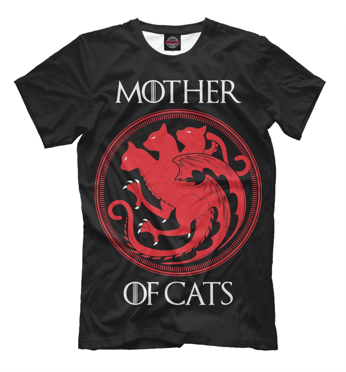 Купить Mother Of Cats, Printbar, Футболки, CAT-838411-fut-2