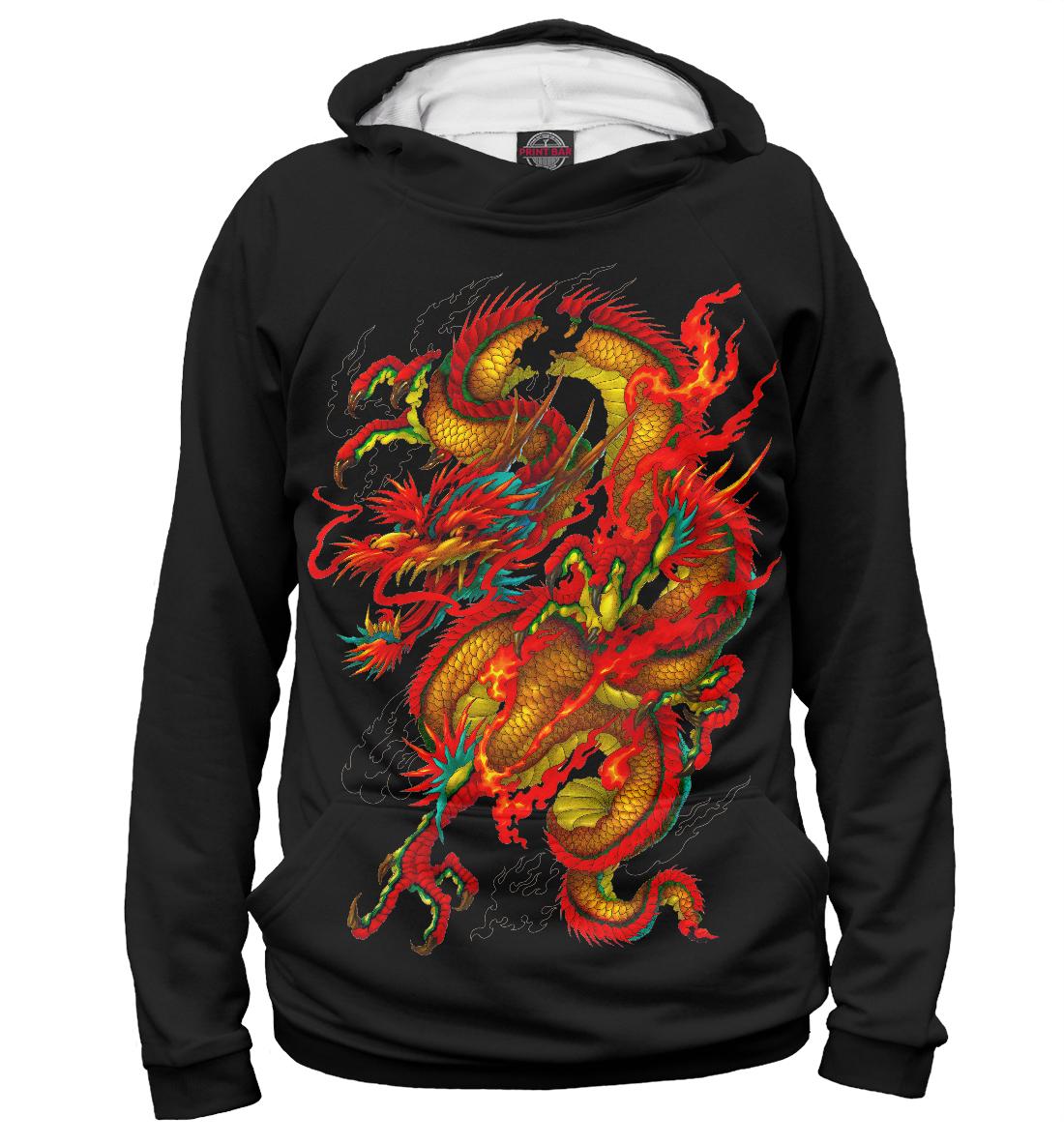 Купить Китайский дракон, Printbar, Худи, DRA-434159-hud-2
