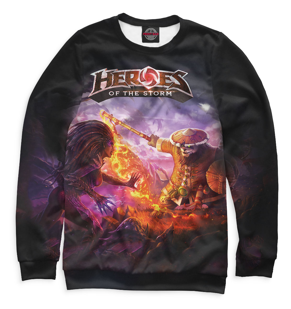 Купить Heroes of the Storm, Printbar, Свитшоты, HOS-614820-swi-1