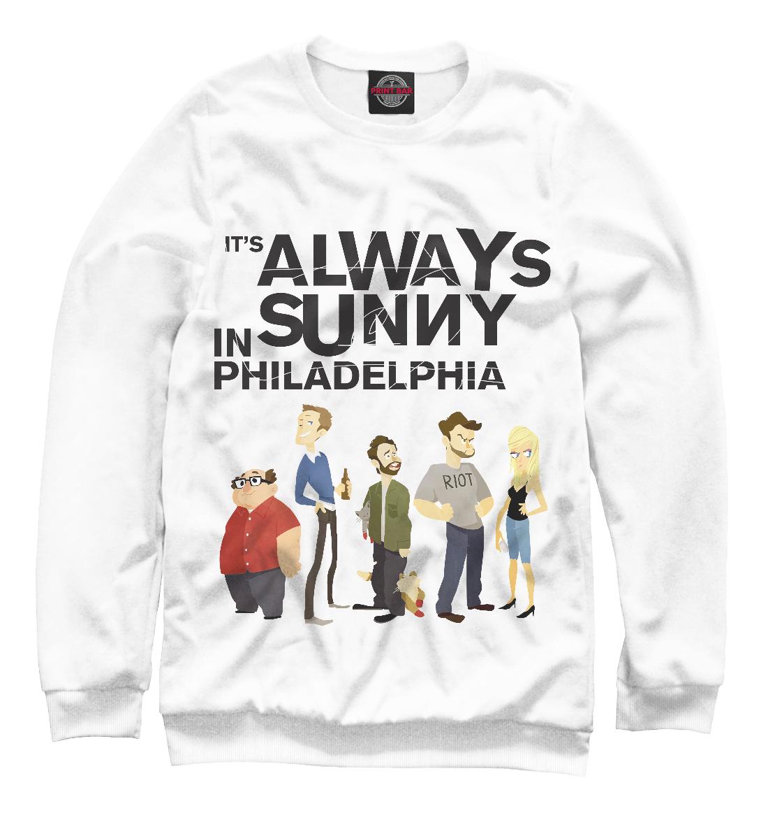 Купить В Филадельфии всегда солнечно, Printbar, Свитшоты, SOT-367850-swi-2