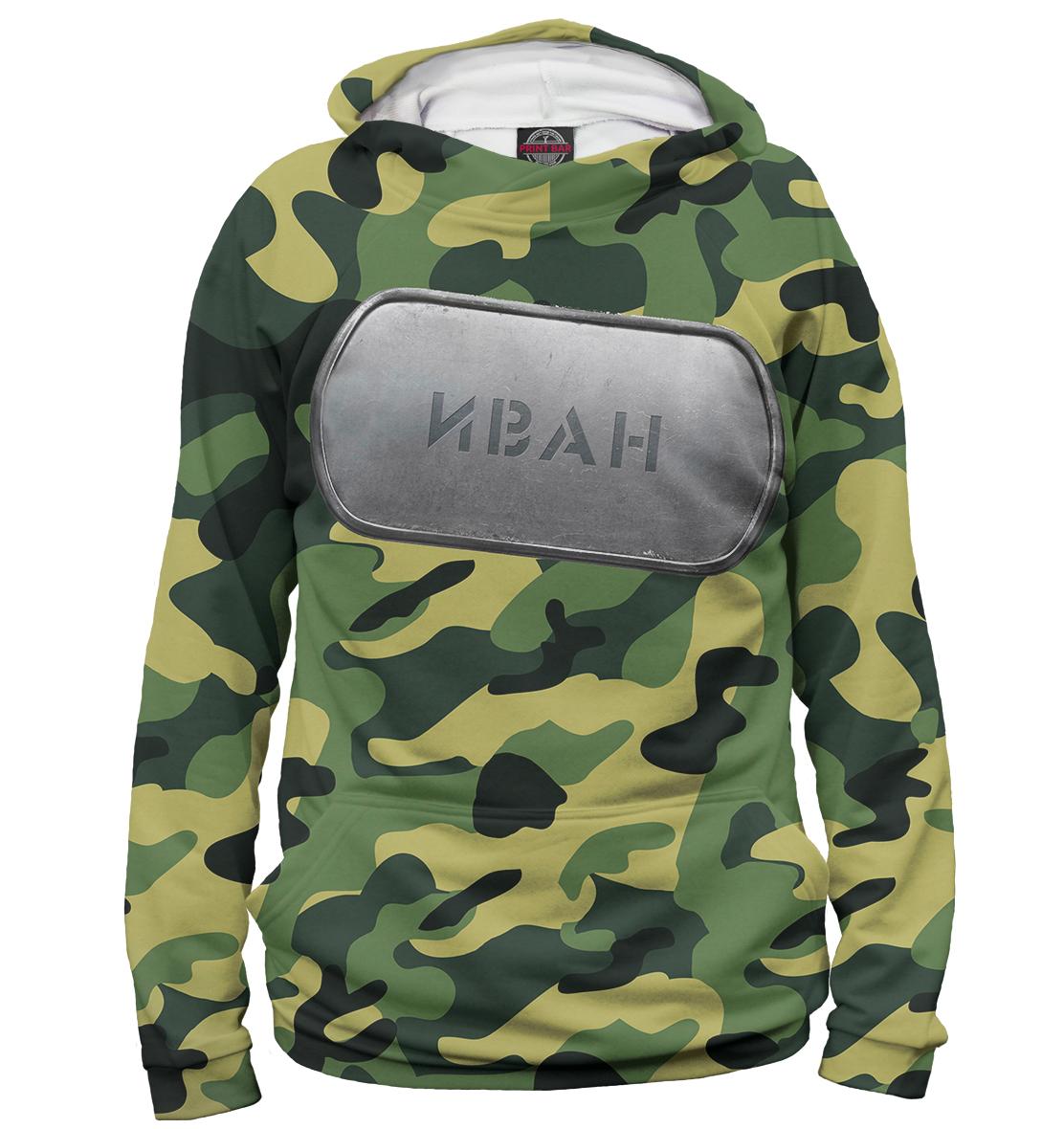 Купить Военный Иван, Printbar, Худи, IVN-107500-hud