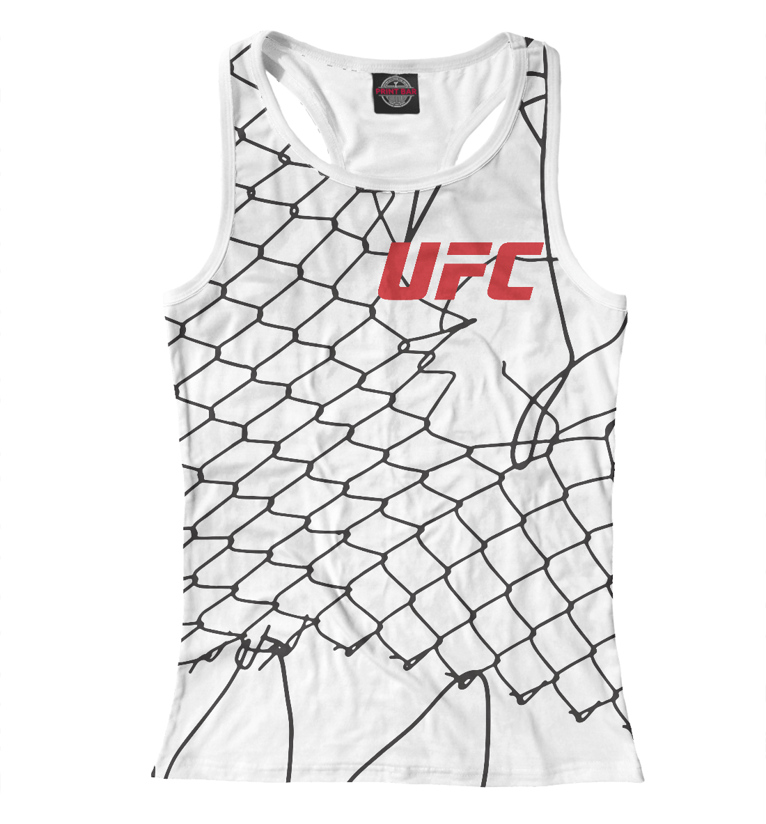 Купить UFC Клетка, Printbar, Майки борцовки, MNU-518706-mayb-1