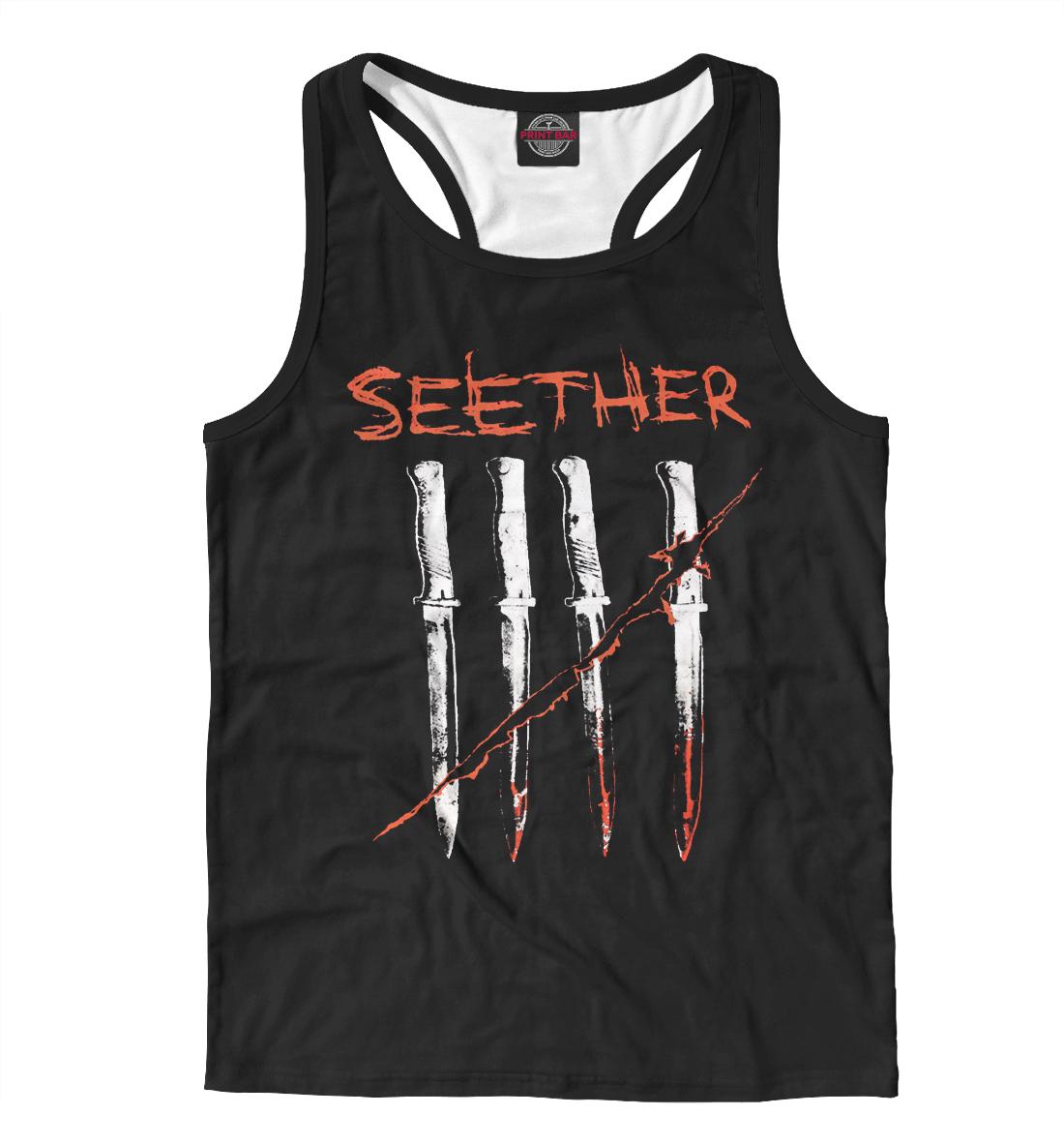Купить Seether, Printbar, Майки борцовки, MZK-341707-mayb-2