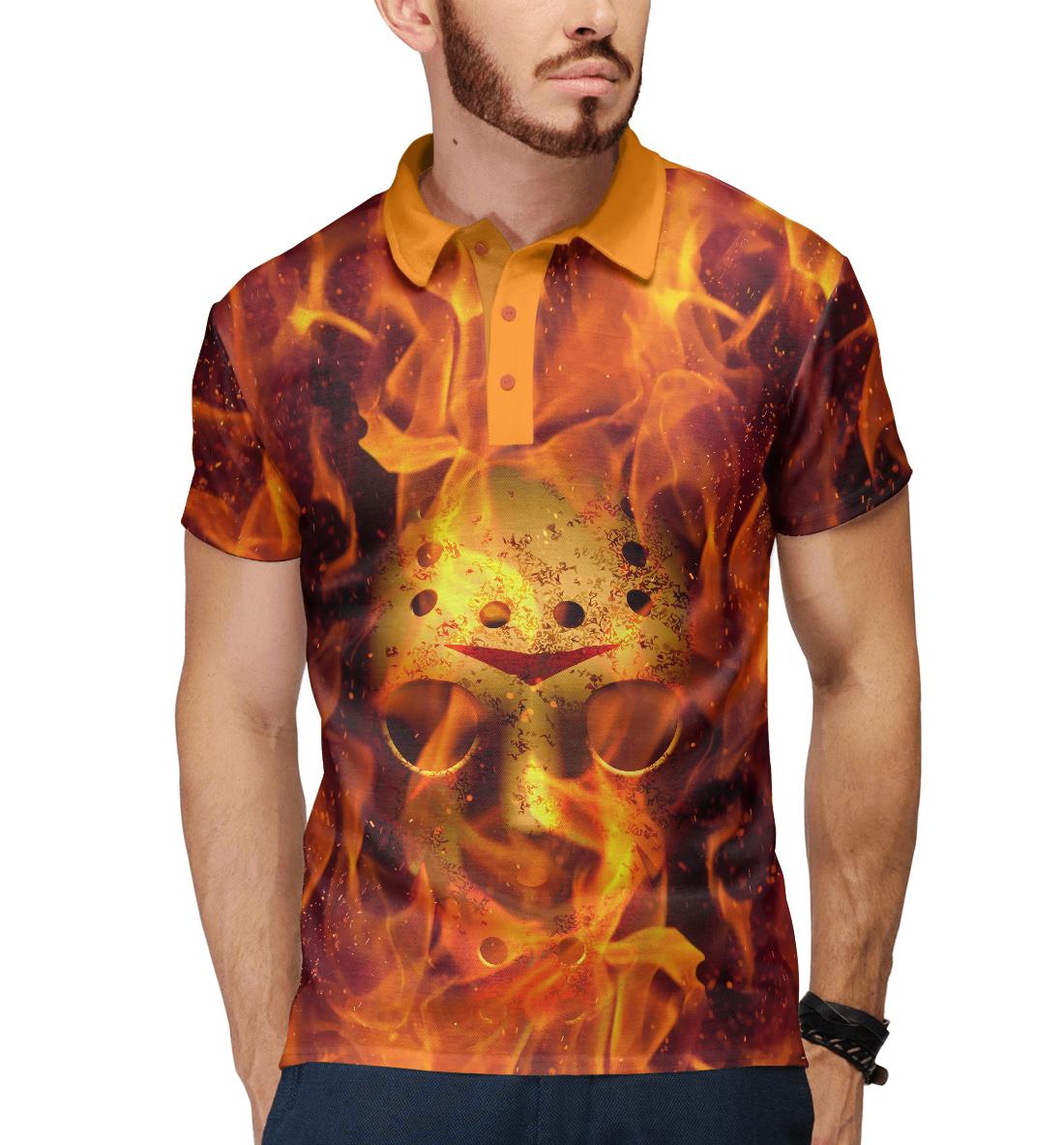 Купить Джейсон в огне, Printbar, Поло, HOR-916425-pol-2