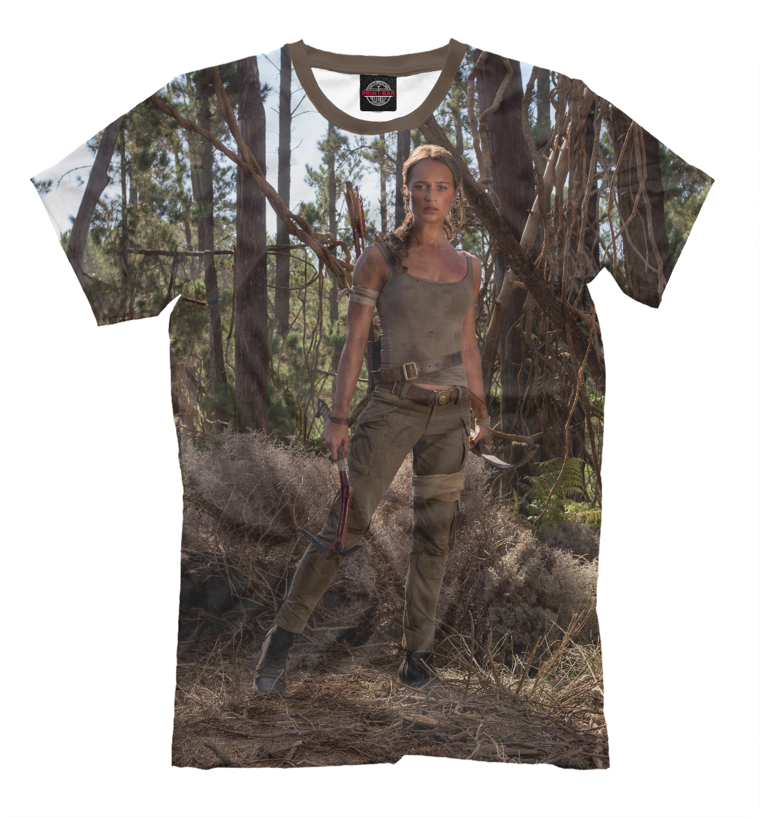 Купить Tomb Raider, Printbar, Футболки, KNO-658921-fut-2