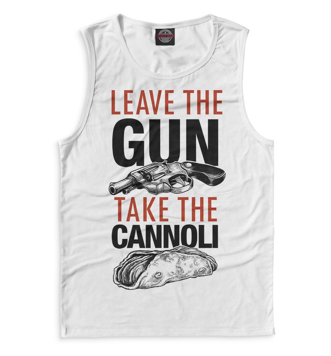 Купить Отложи пистолет и съешь канноли, Printbar, Майки, GDF-915909-may-2