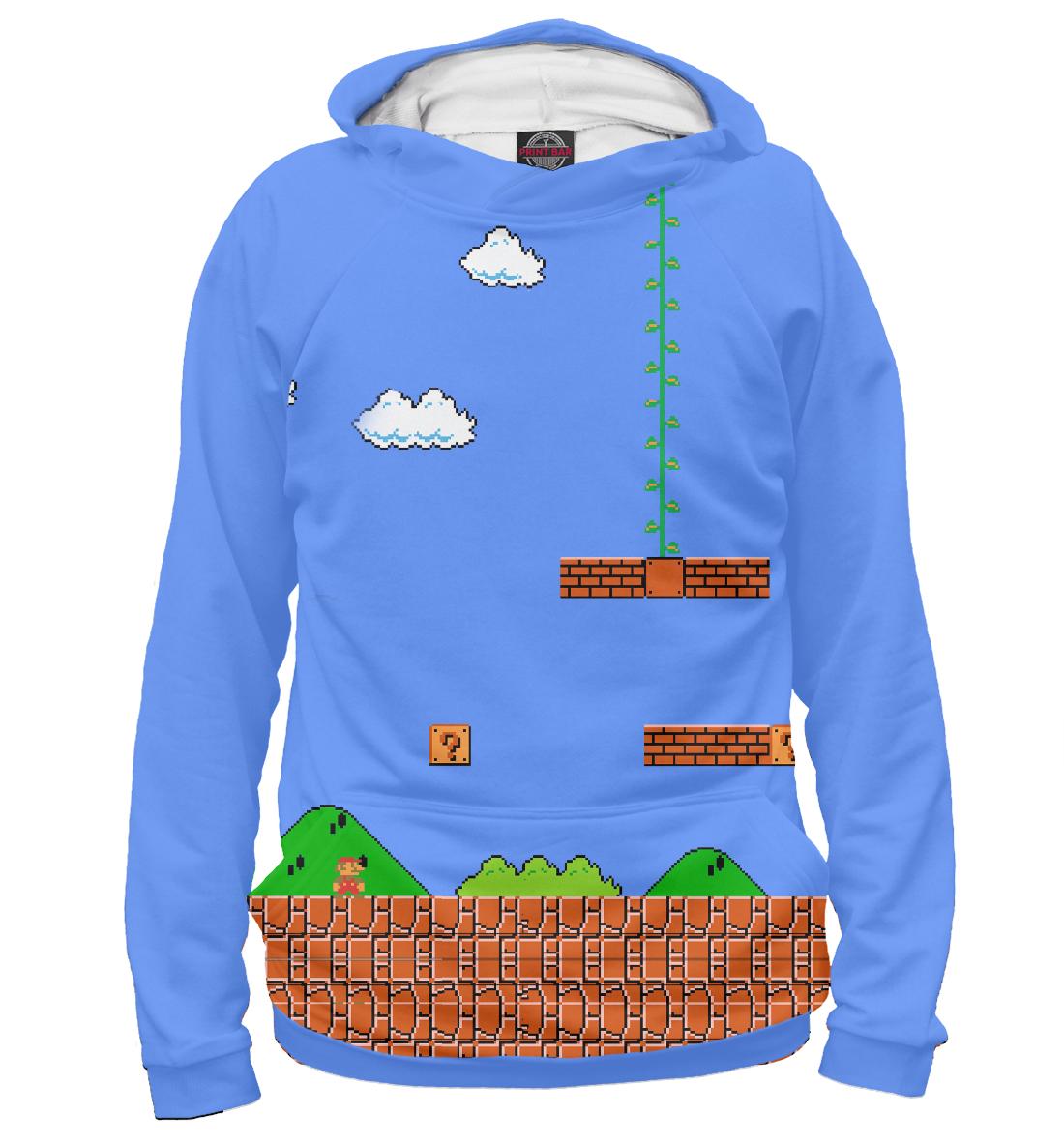 Купить Super Mario 8bit, Printbar, Худи, DEN-538240-hud-2