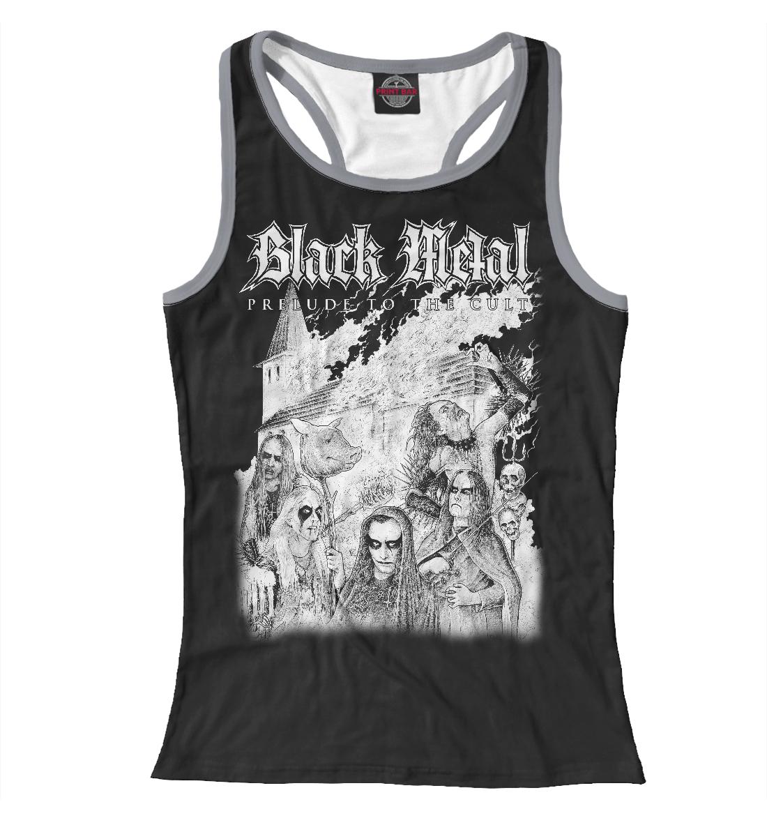 Купить Black Metal, Printbar, Майки борцовки, MZK-267645-mayb-1
