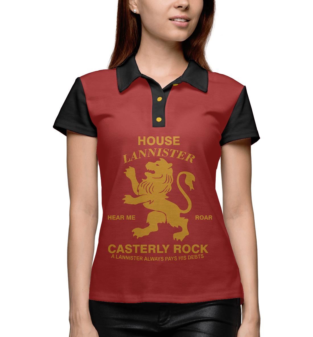 поло print bar house lannister House Lannister