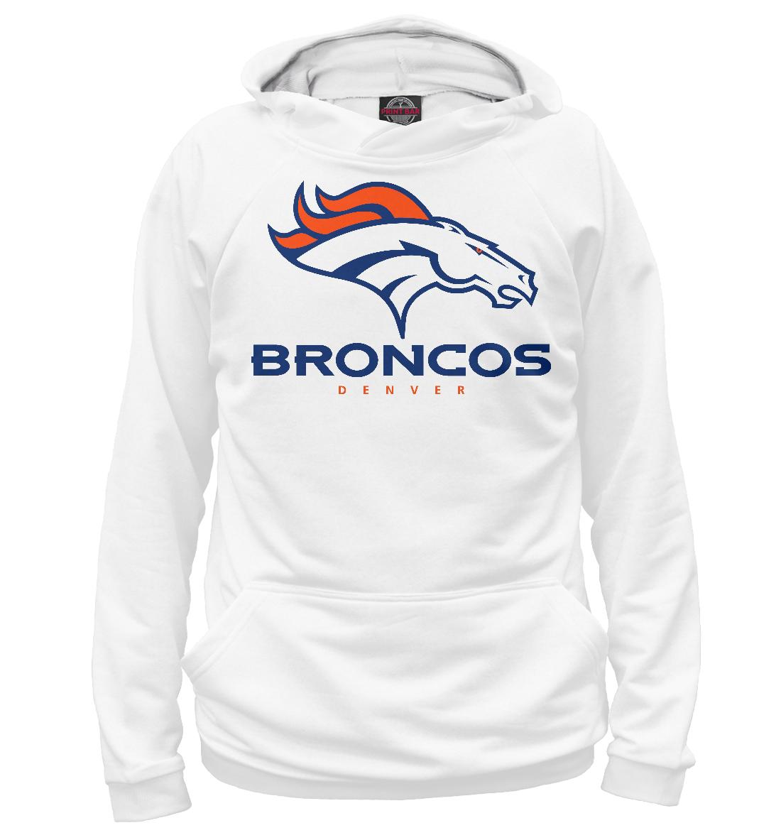 Купить Denver Broncos - Денвер Бронкос, Printbar, Худи, APD-335785-hud-2