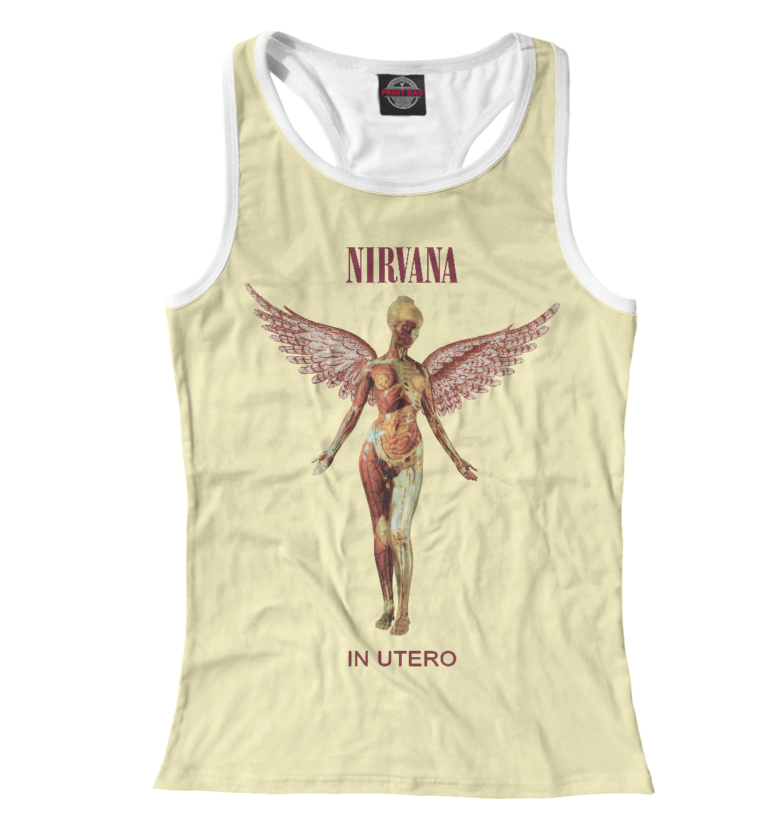 Nirvana (In Utero) футболка стрэйч printio nirvana in utero t shirt
