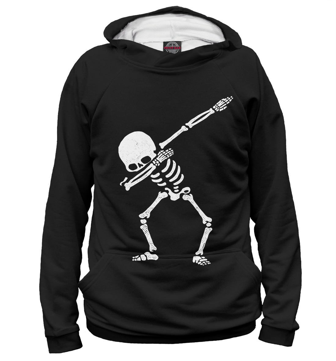 Купить Dabbing Skeleton, Printbar, Худи, DAB-494551-hud-2