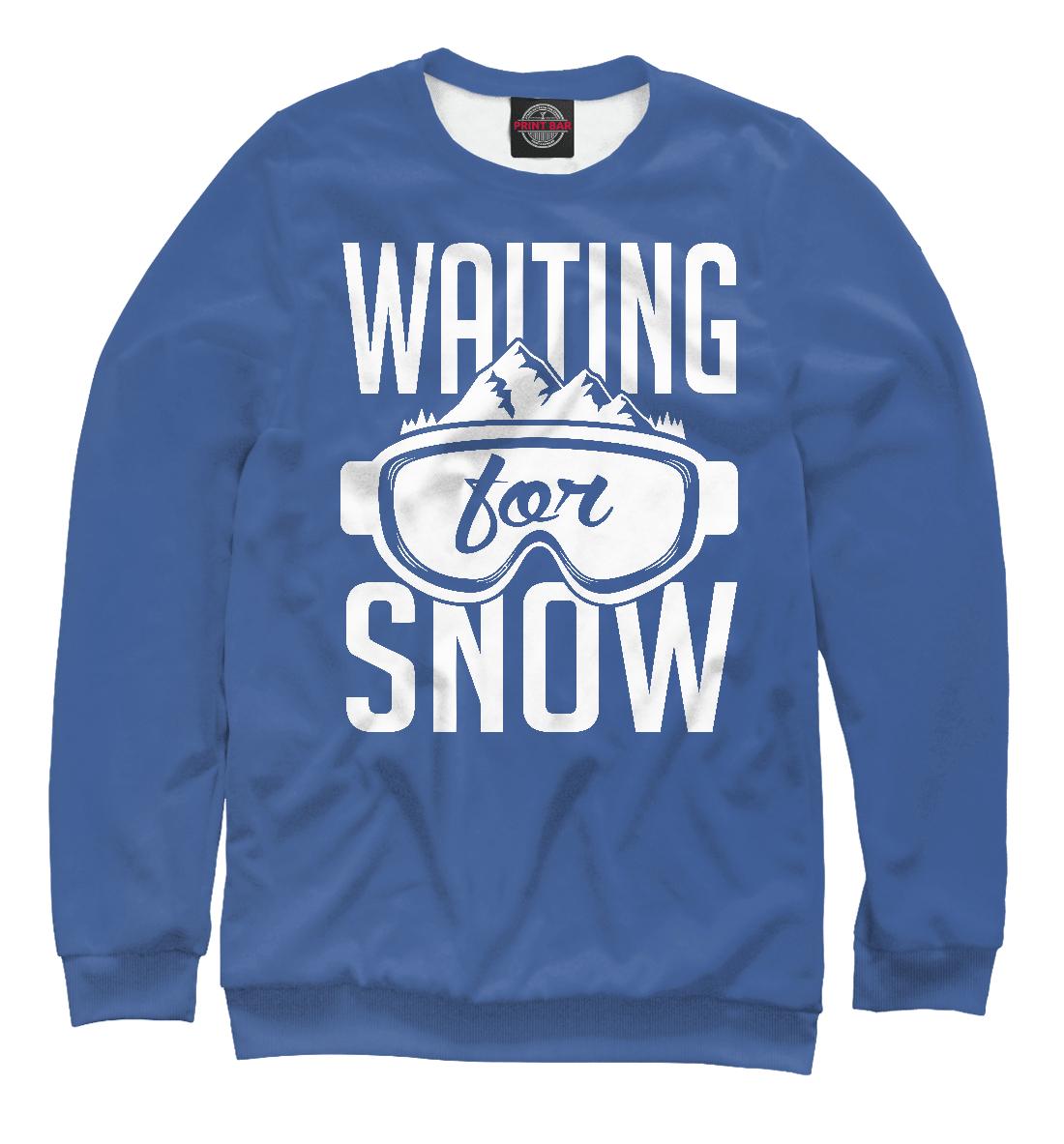 Купить В ожидании снега, Printbar, Свитшоты, SNW-428494-swi-1