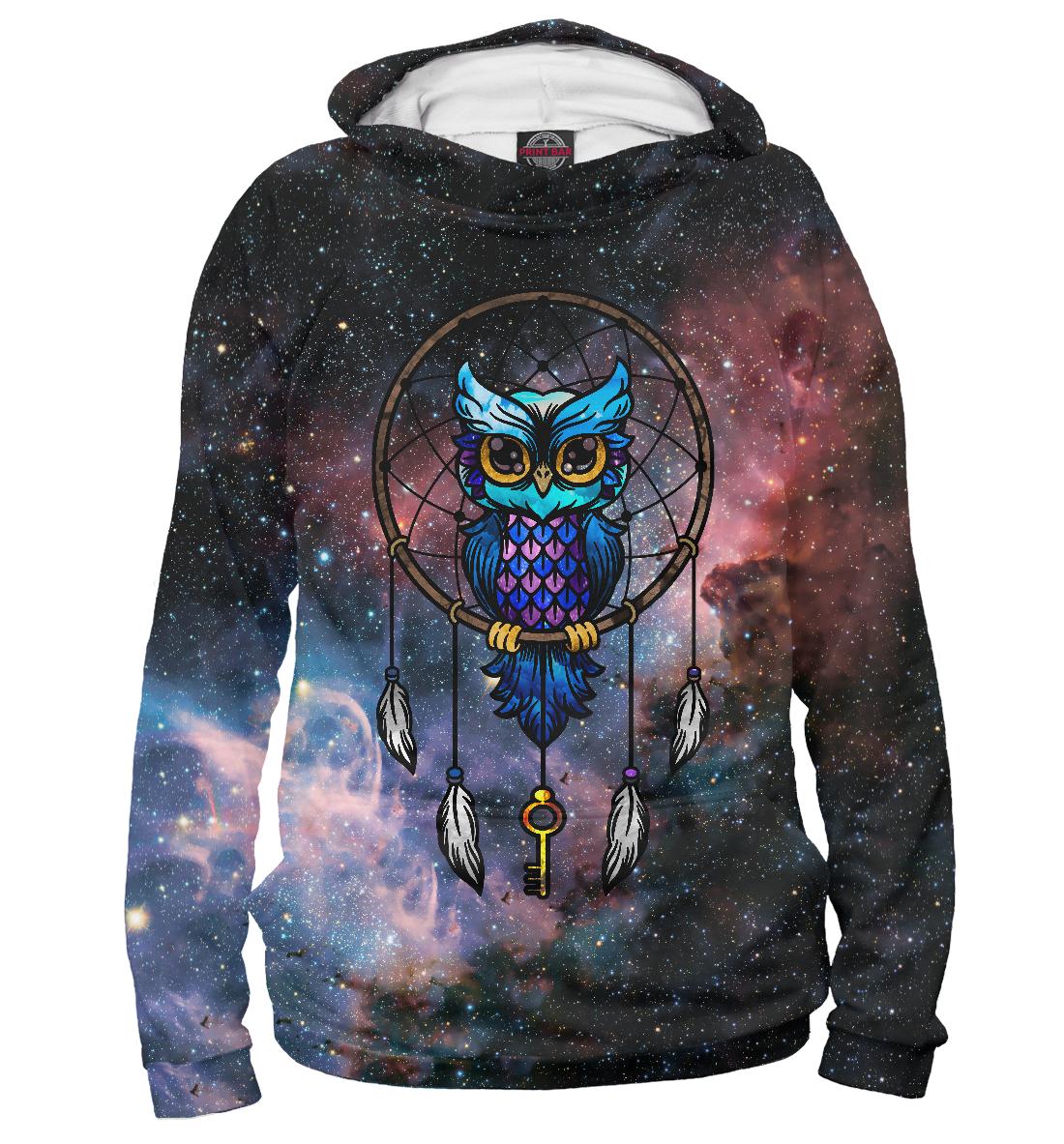 Купить Сова космос, Printbar, Худи, OWL-162615-hud-2