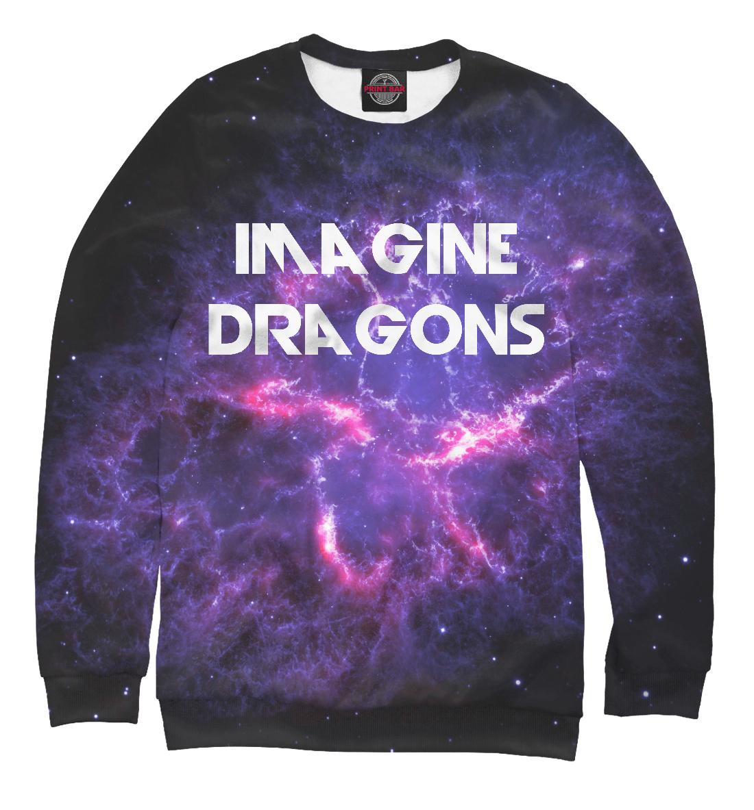 Купить Imagine Dragons in Stars, Printbar, Свитшоты, IMA-413813-swi-1