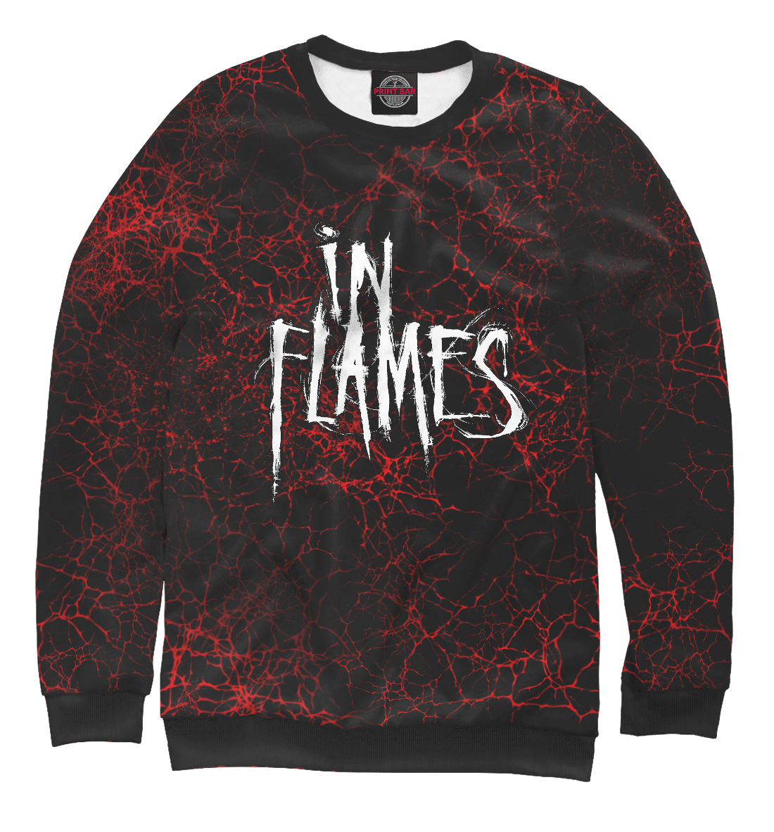 Купить In Flames, Printbar, Свитшоты, INF-302261-swi-1