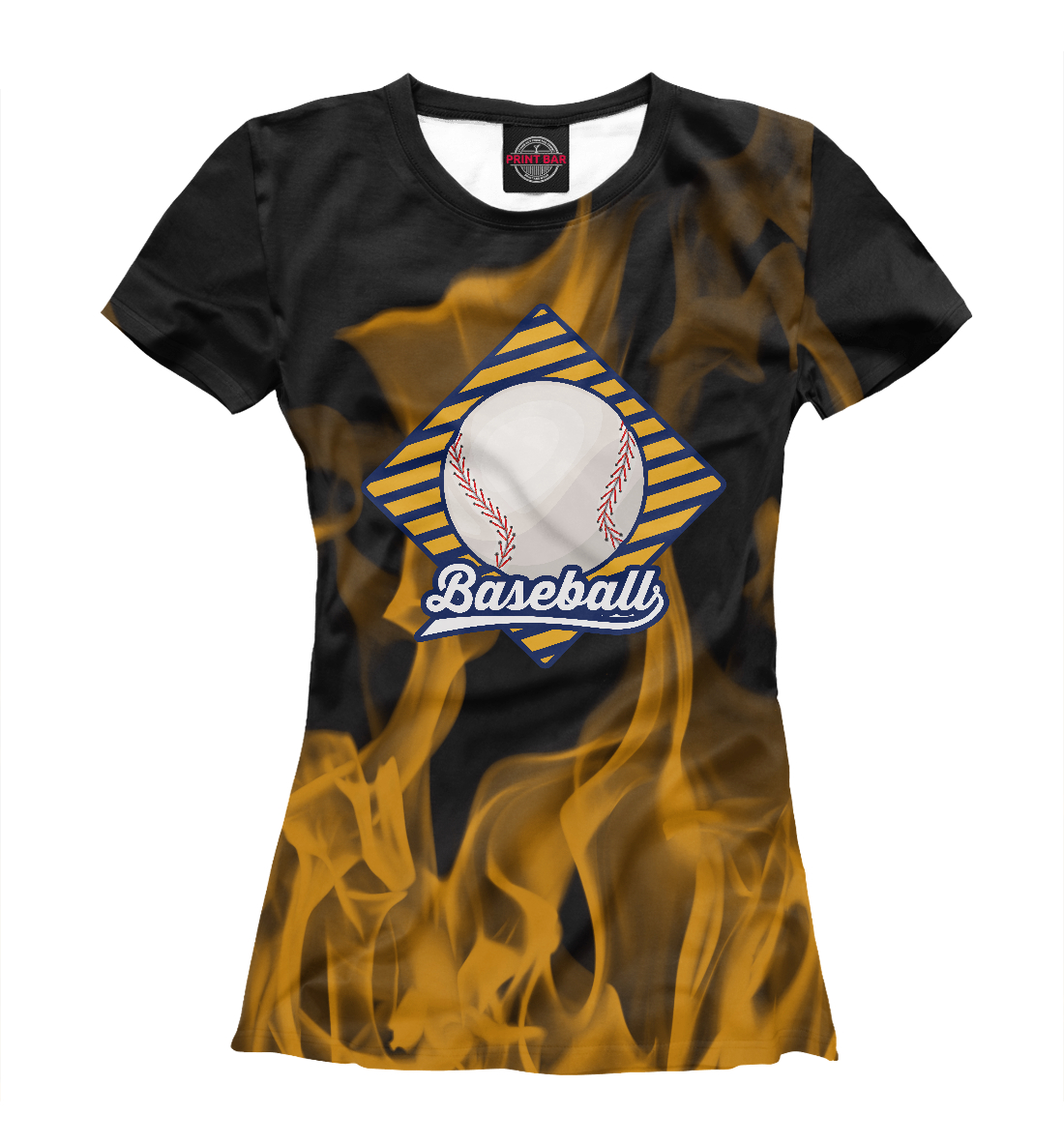 Фото - Огненный бейсбол огненный лев