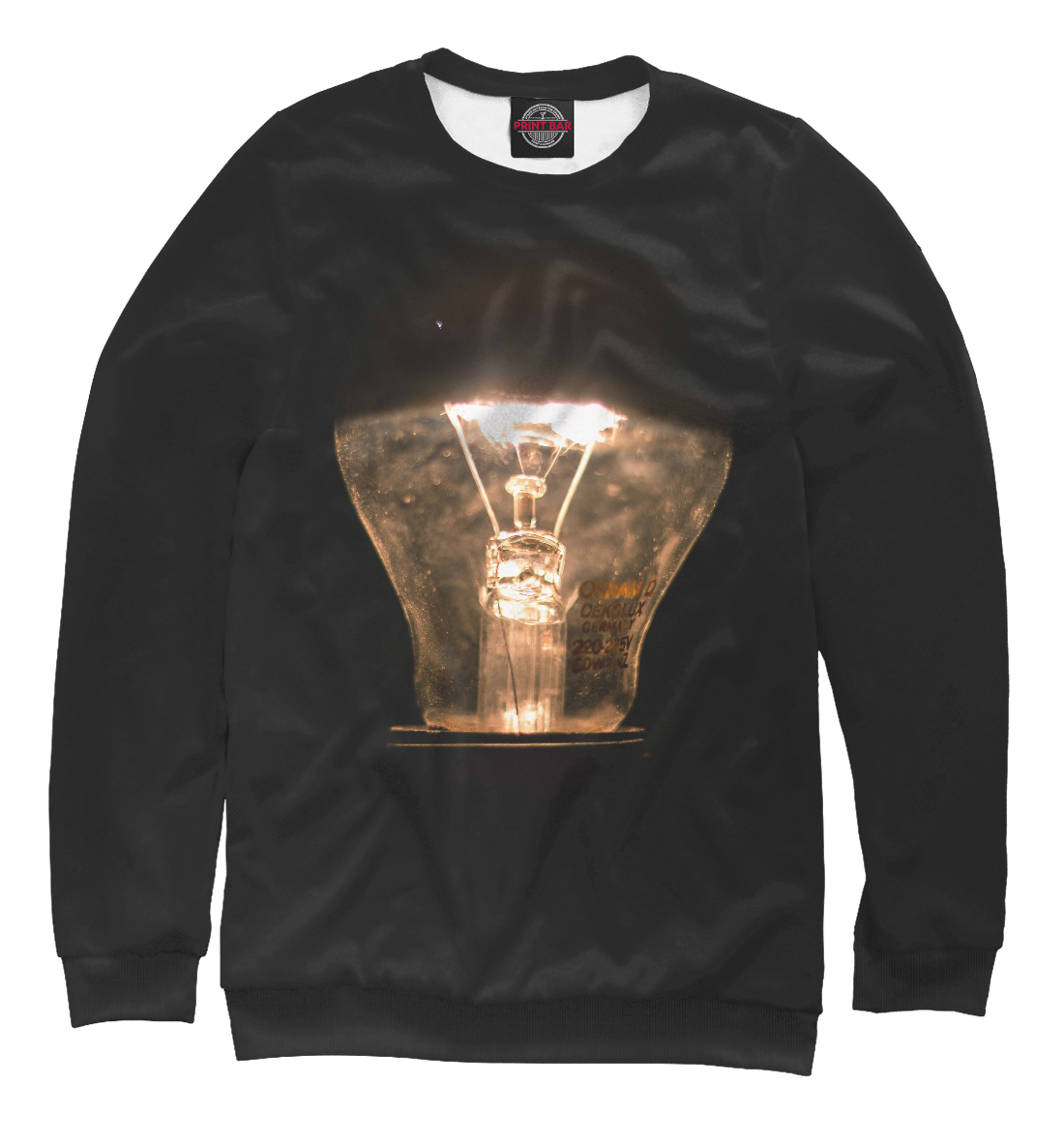 Купить Лампочка, Printbar, Свитшоты, APD-886084-swi-2