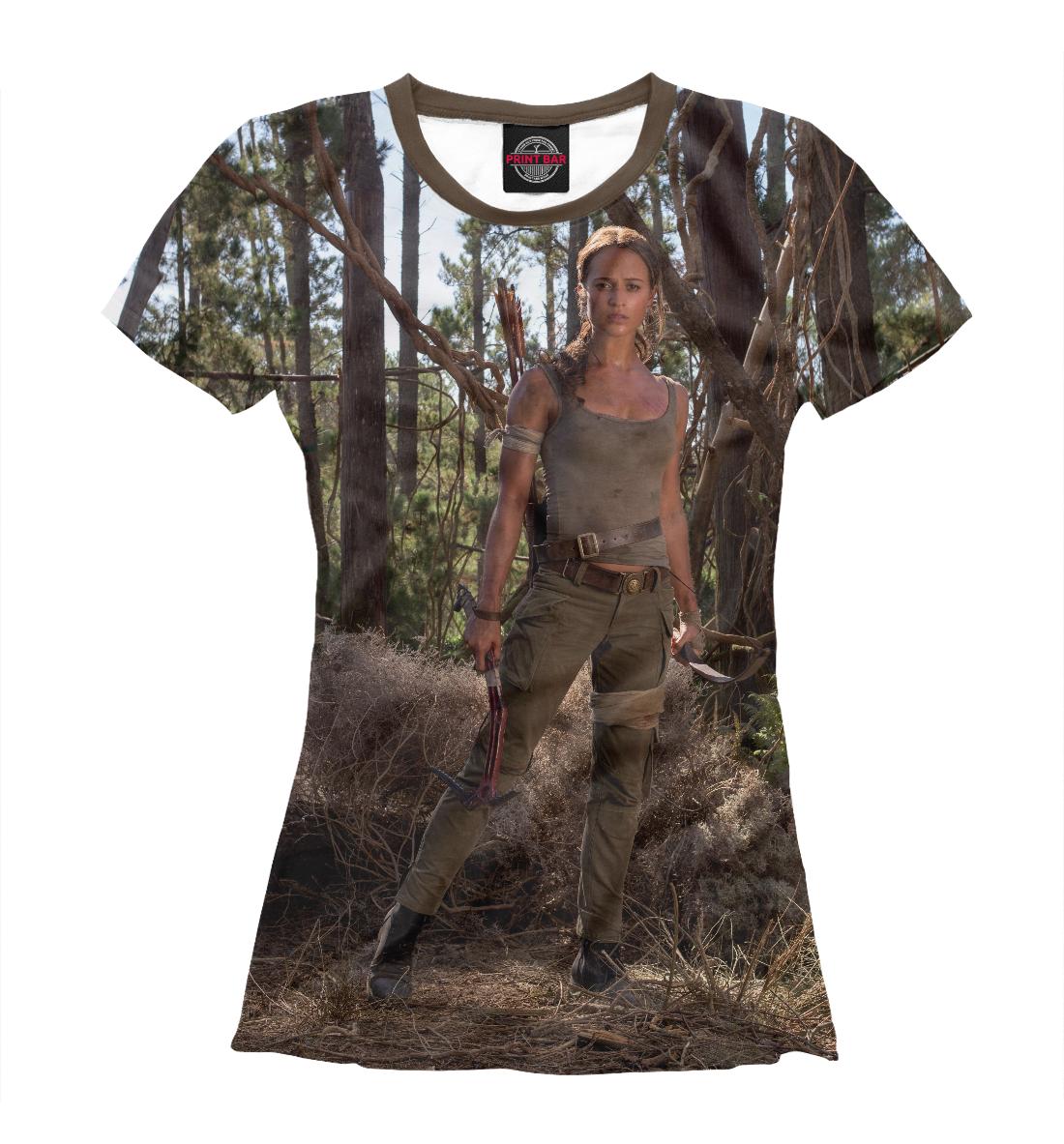 Купить Tomb Raider, Printbar, Футболки, KNO-658921-fut-1