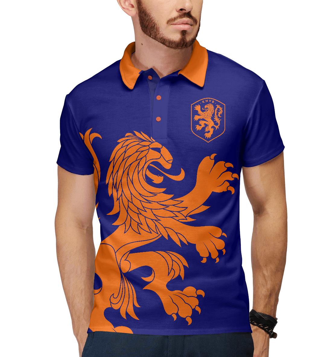 Купить Голландия, Printbar, Поло, FNS-774673-pol-2