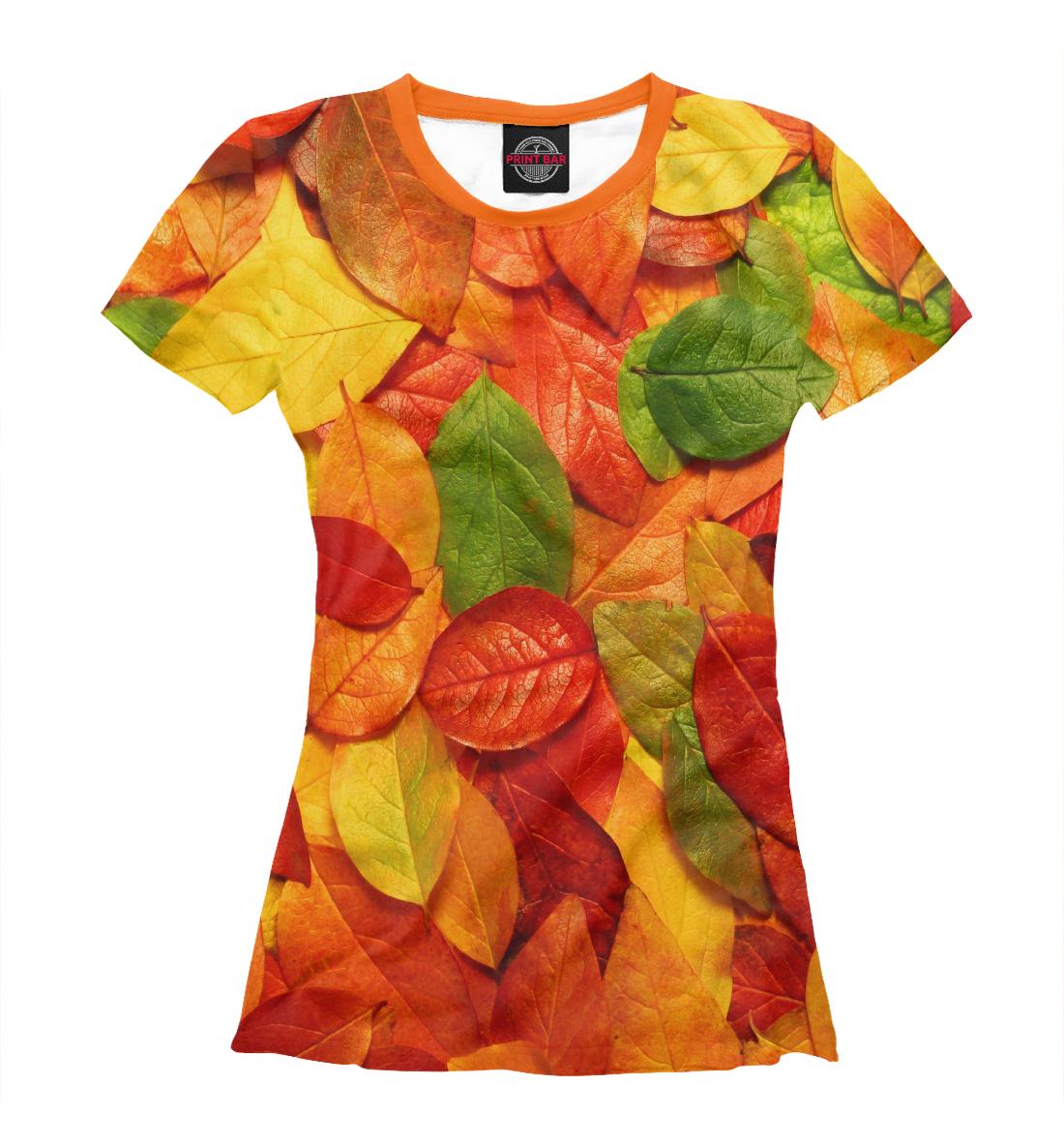 Купить Осенние листья, Printbar, Футболки, PEY-603871-fut-1