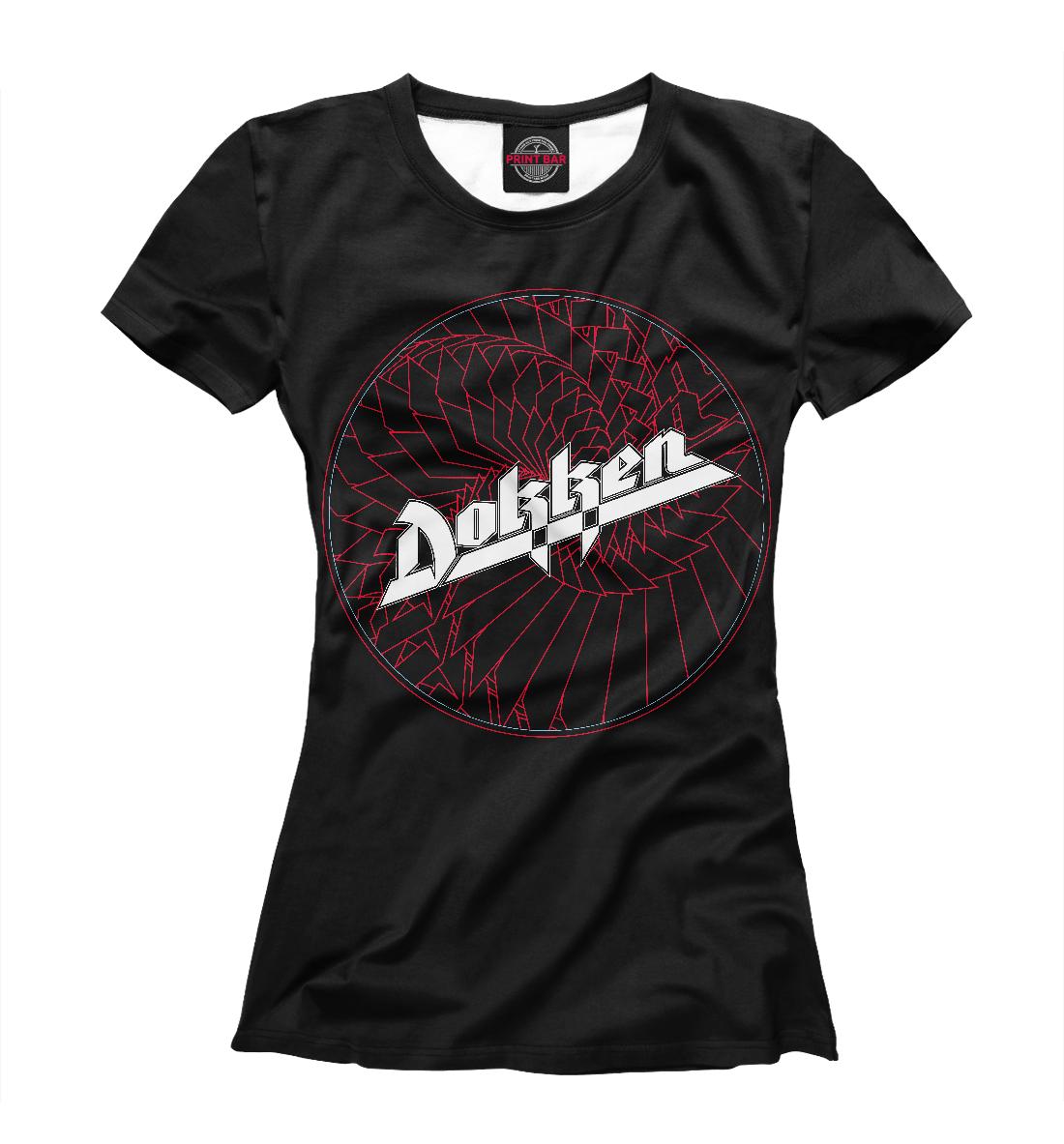 Купить Dokken: Breaking The Chains, Printbar, Футболки, APD-956707-fut-1