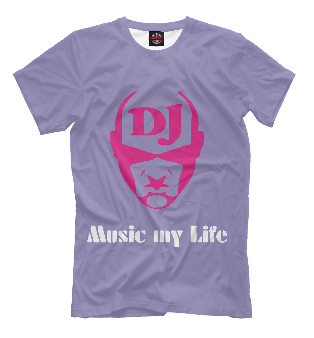 Купить Music my life, Printbar, Футболки, APD-344642-fut-2