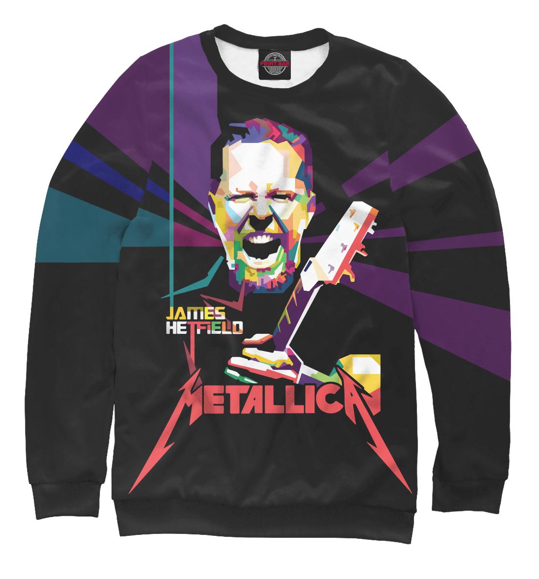Купить Metallica James Alan Hatfield, Printbar, Свитшоты, MET-479170-swi-1
