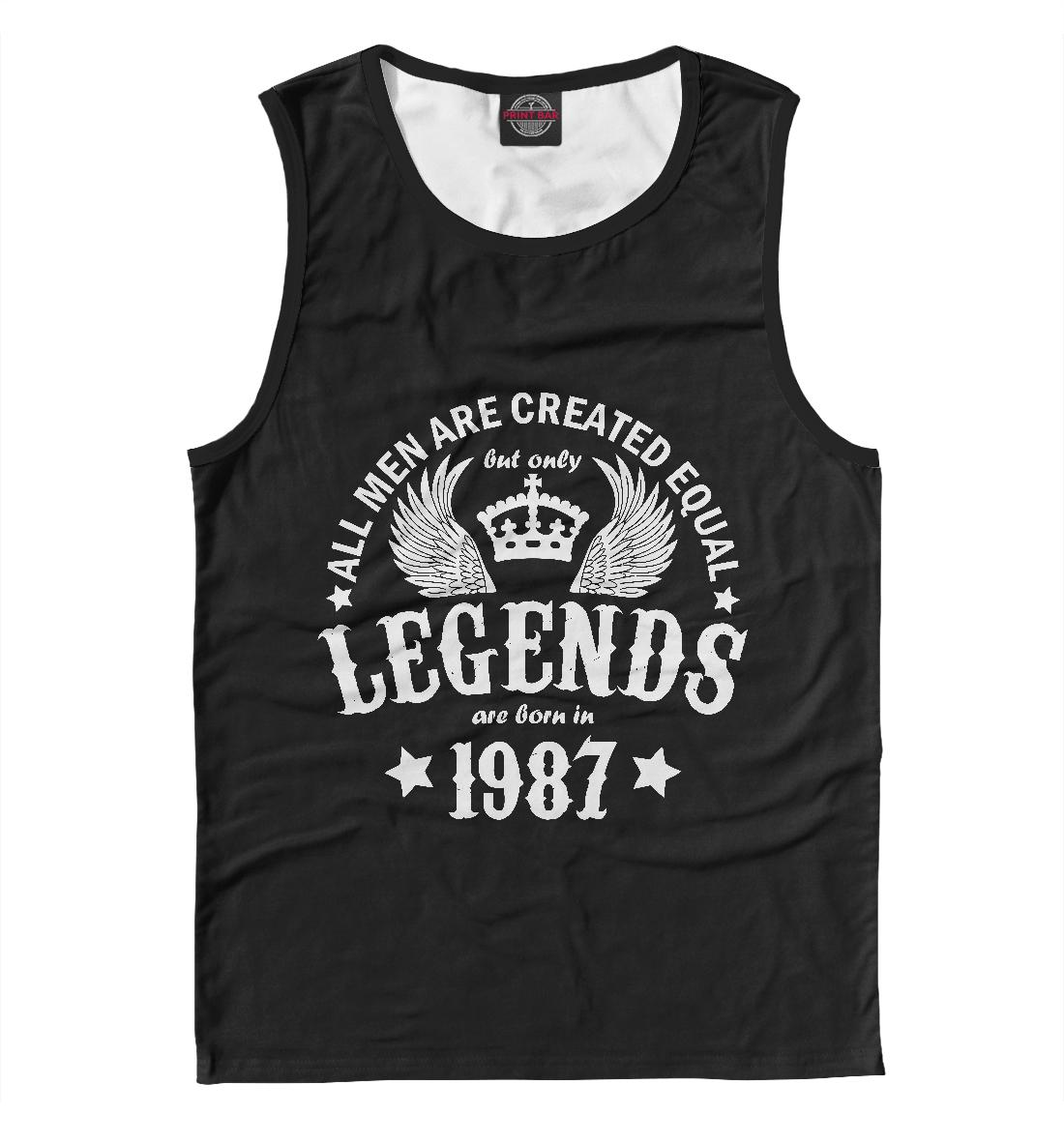 Купить 1987 - рождение легенды, Printbar, Майки, DVE-798816-may-2