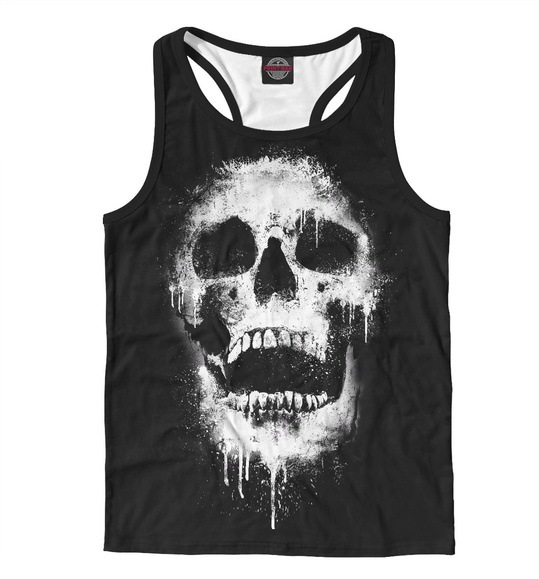 Купить Evil Skull, Printbar, Майки борцовки, HIP-210961-mayb-2