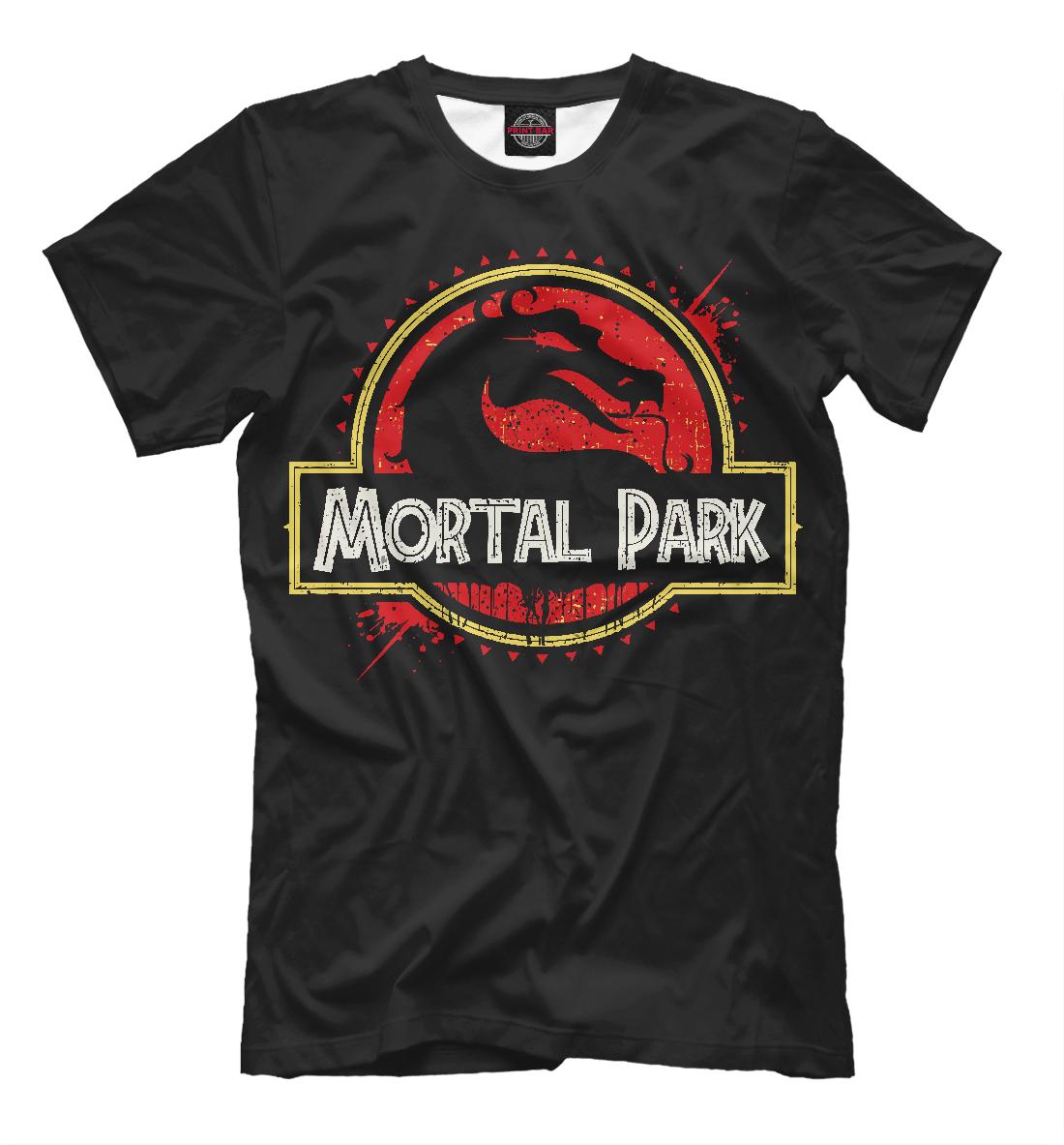 Купить Mortal Park, Printbar, Футболки, MKB-413003-fut-2