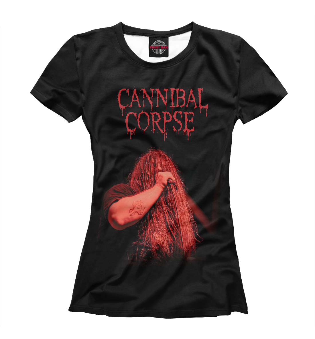 Купить George Fisher (Cannibal Corpse), Printbar, Футболки, MZK-217329-fut-1
