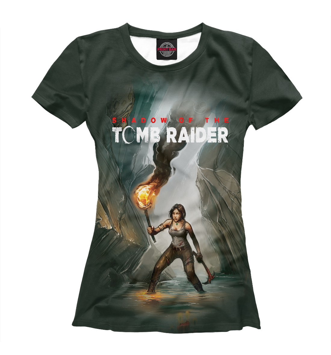 Купить Tomb Raider, Printbar, Футболки, TBR-834587-fut-1