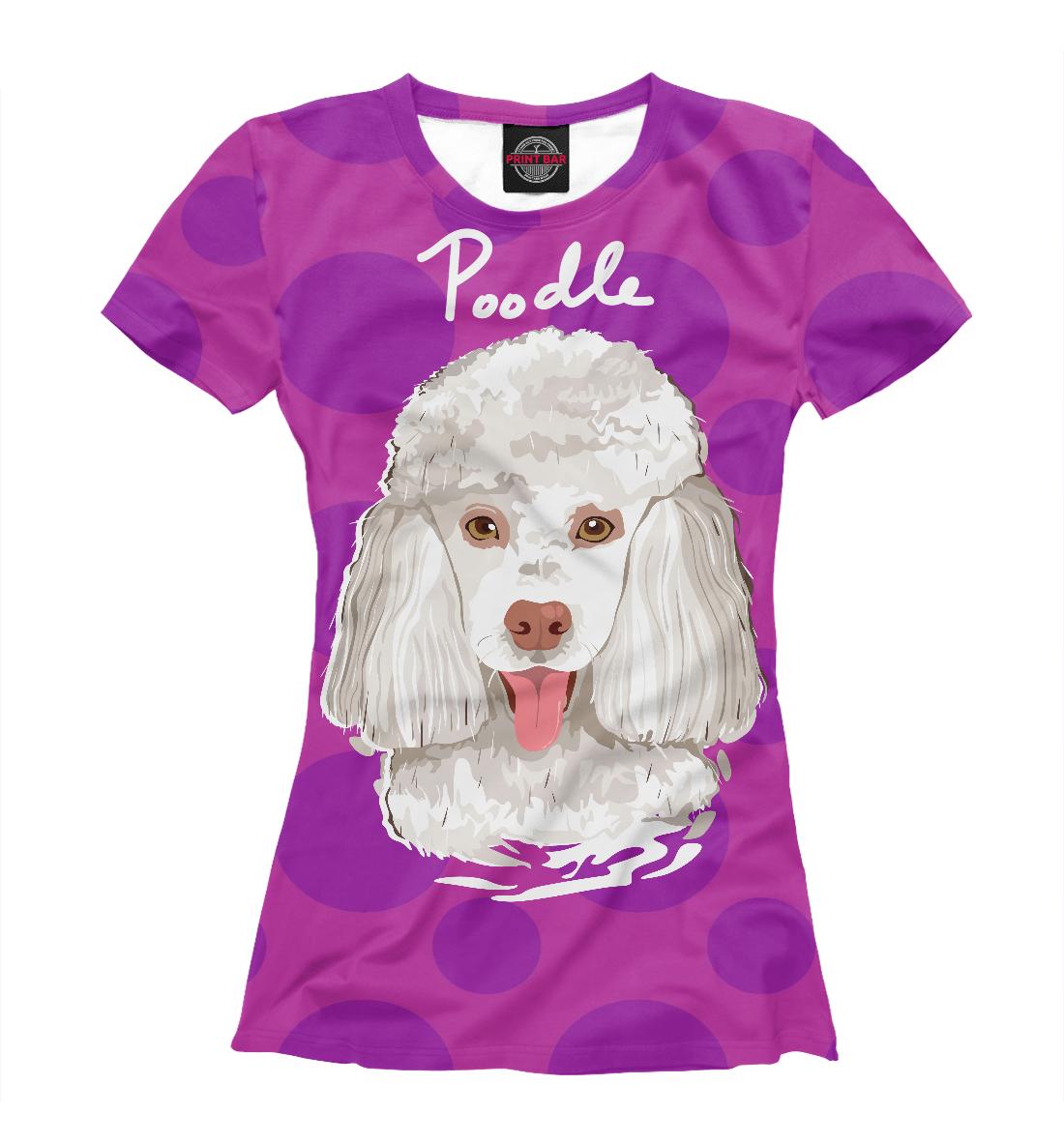 Купить Poodle, Printbar, Футболки, DOG-709708-fut-1