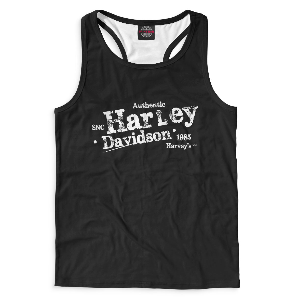 Купить Harvey Davidson, Printbar, Майки борцовки, APD-615583-mayb-2