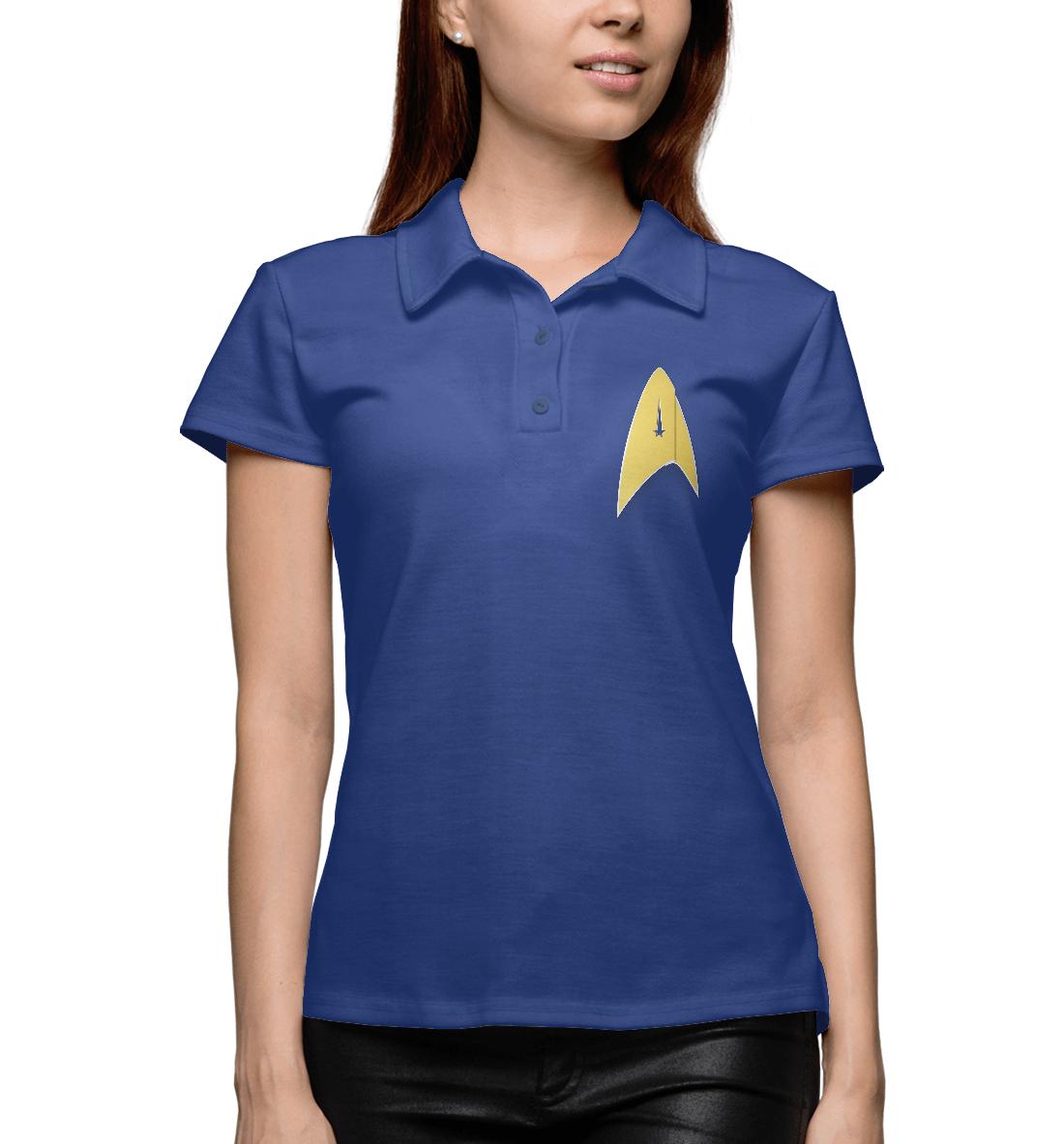 Купить Звёздный путь: Дискавери, Printbar, Поло, SDC-410052-pol-1
