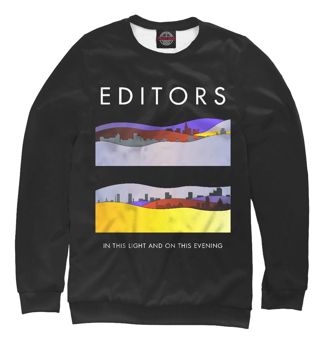 Купить Editors, Printbar, Свитшоты, MZK-457598-swi-2