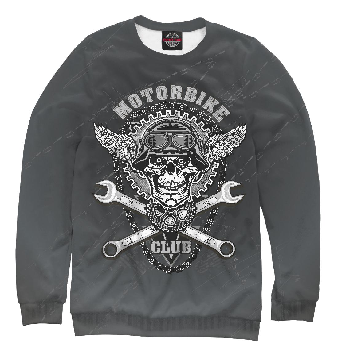 Купить Skull in helmet, Printbar, Свитшоты, AMP-932423-swi-2