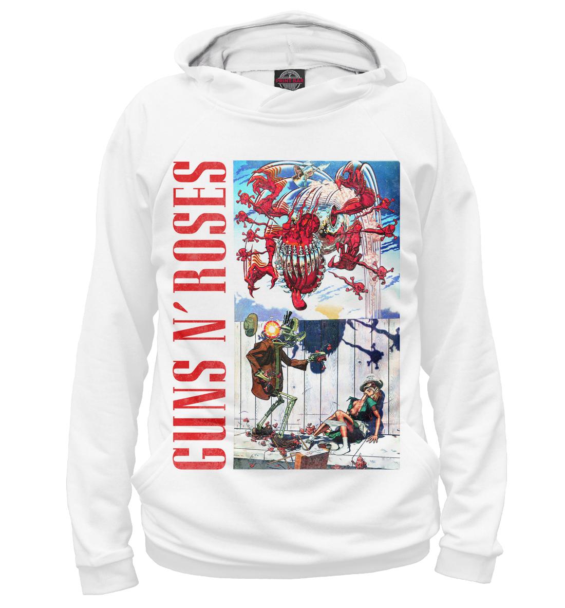 Купить Guns N'Roses, Printbar, Худи, GNR-951621-hud-1