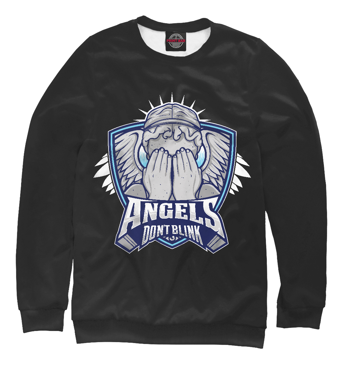 Купить Angels Dont Blink, Printbar, Свитшоты, HIP-896180-swi-2