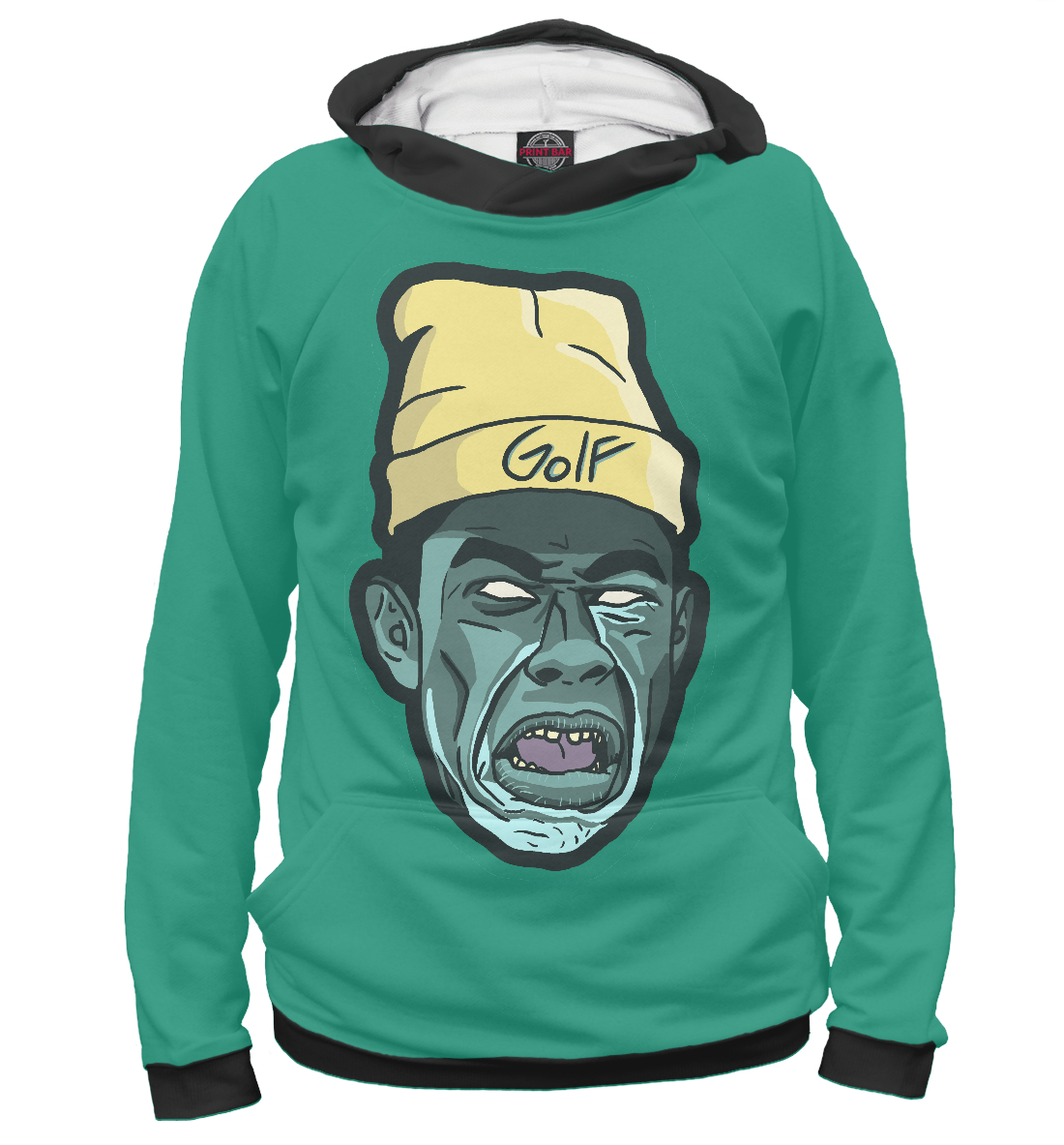 Купить Tyler the creator, Printbar, Худи, MZK-113687-hud-1