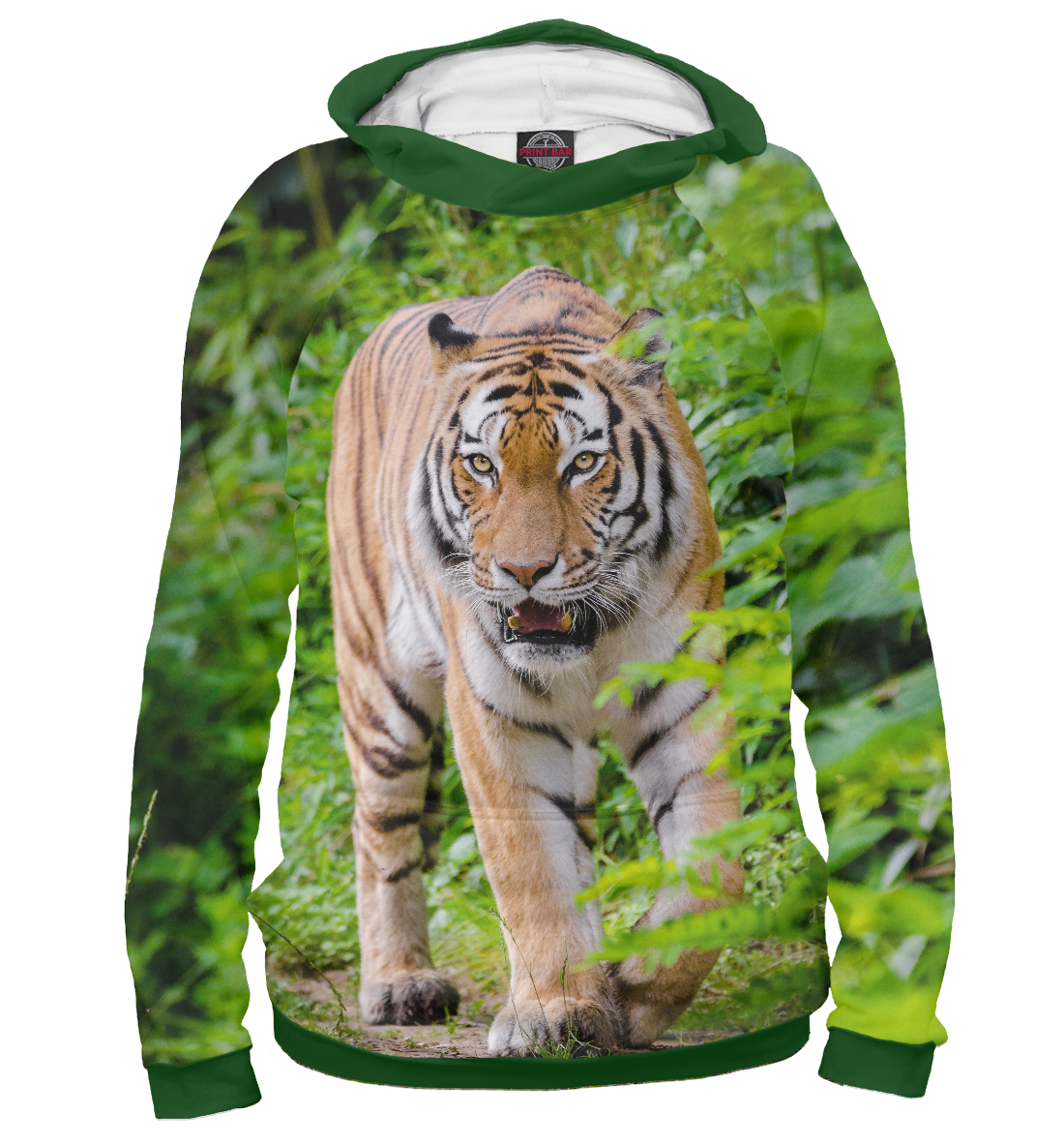 Купить Tiger, Printbar, Худи, HIS-897812-hud-2