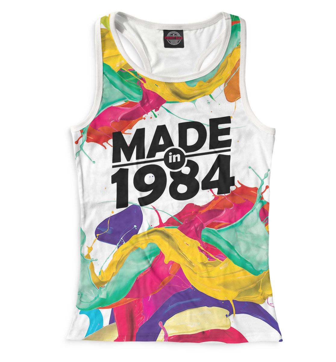 Купить Made in 1984, Printbar, Майки борцовки, DVC-818111-mayb-1