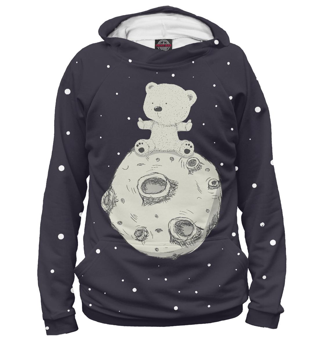 Купить Мишка на луне, Printbar, Худи, MED-650585-hud-2